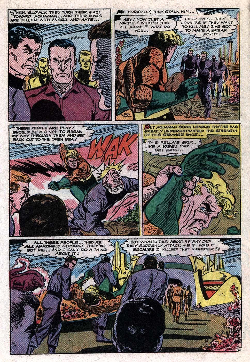 Read online Aquaman (1962) comic -  Issue #41 - 19