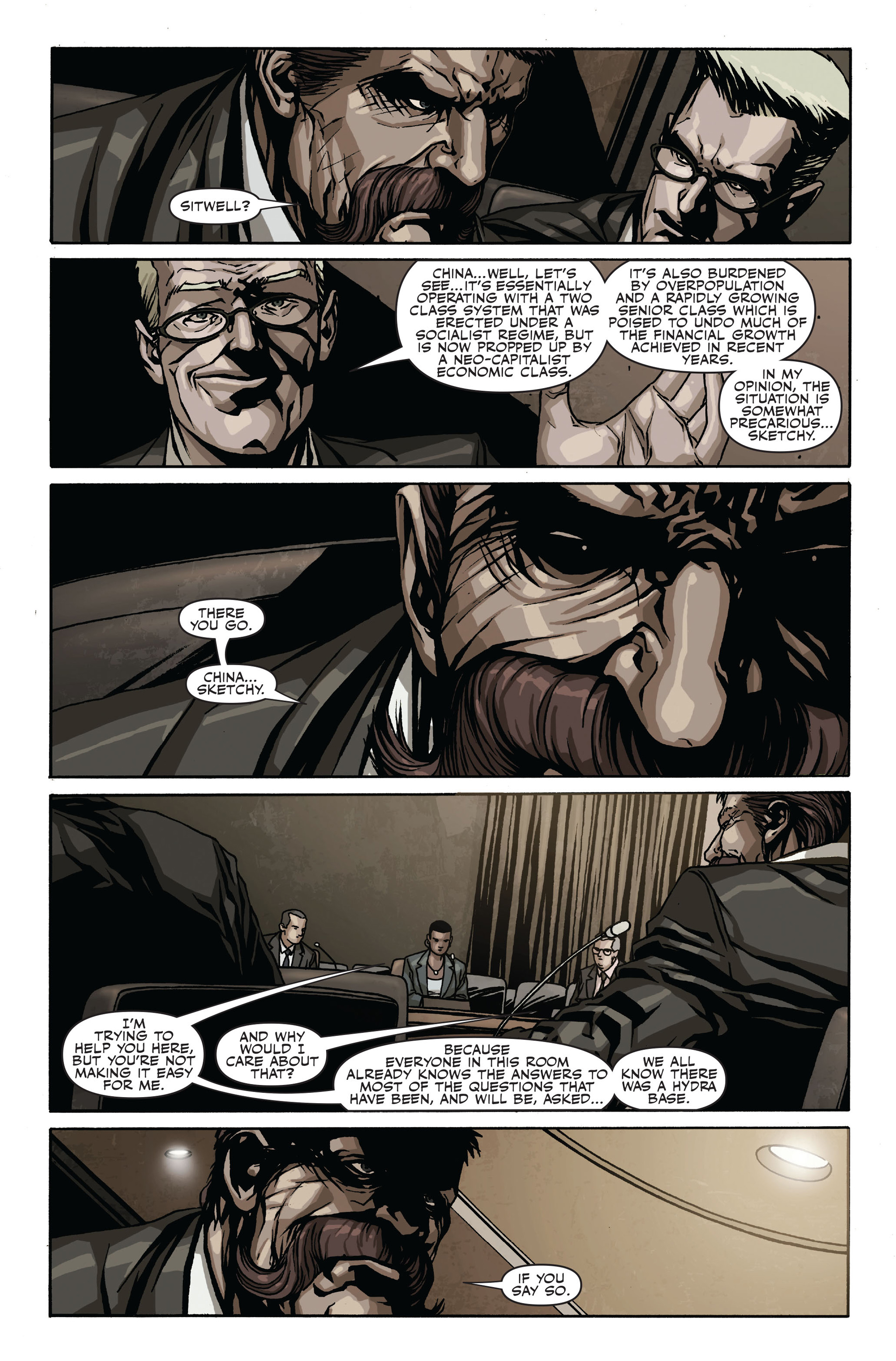 Read online Secret Warriors comic -  Issue #17 - 16