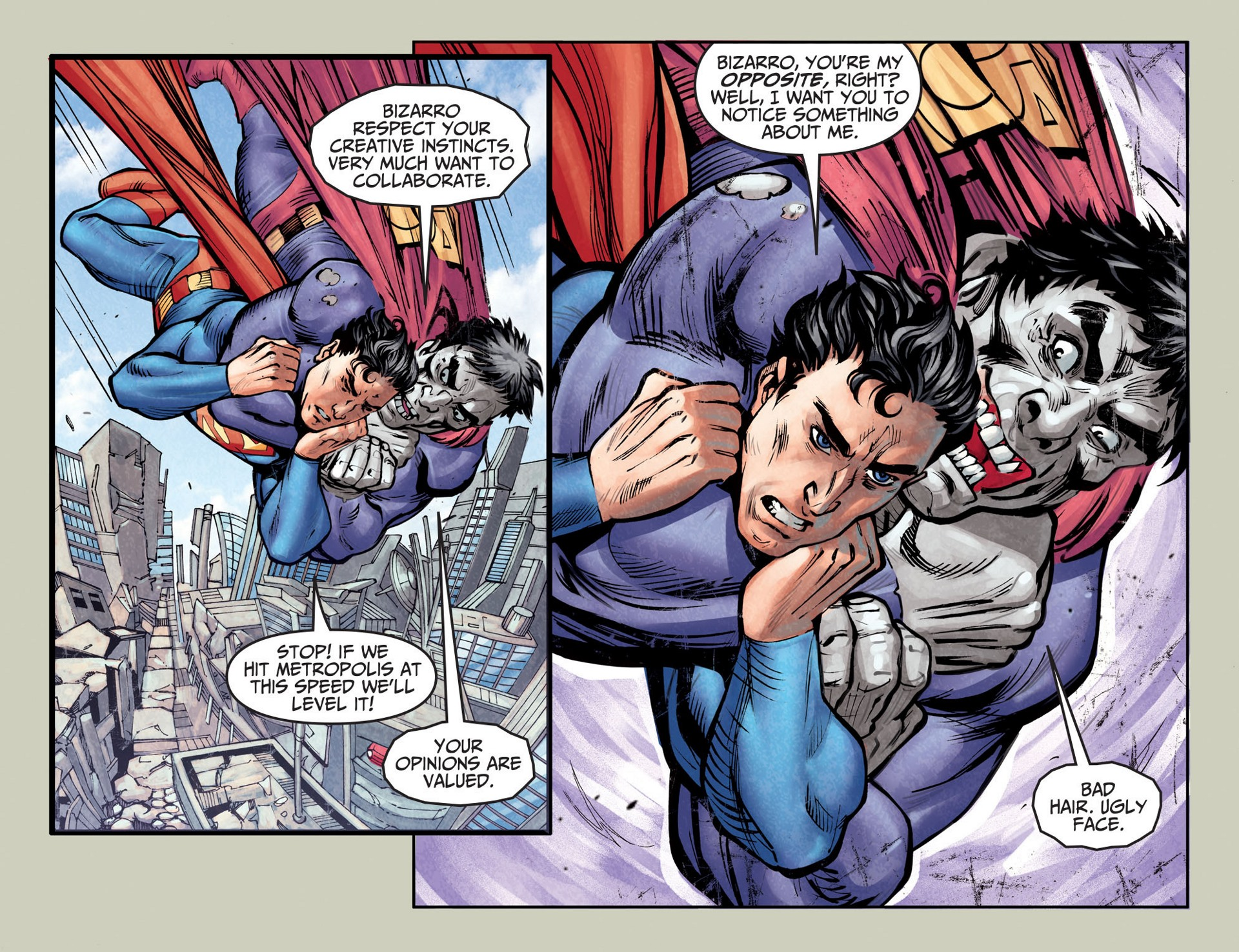 Read online Adventures of Superman [I] comic -  Issue #25 - 7