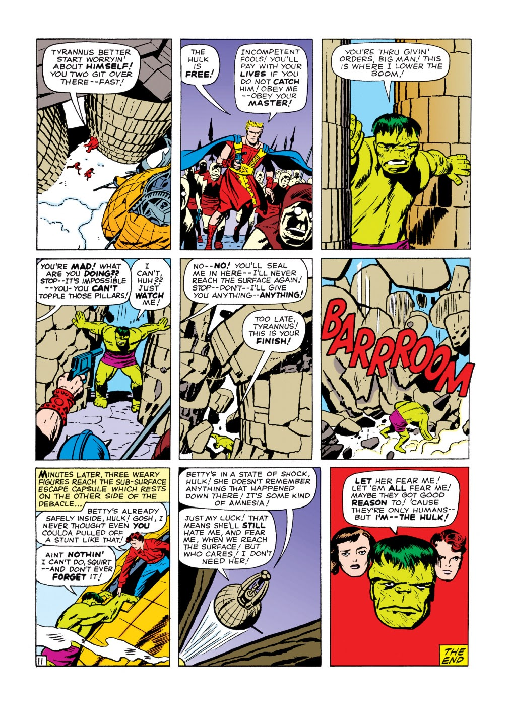 Read online Marvel Masterworks: The Incredible Hulk comic -  Issue # TPB 1 (Part 2) - 15