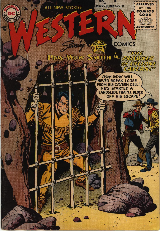 Western Comics 57 Page 1