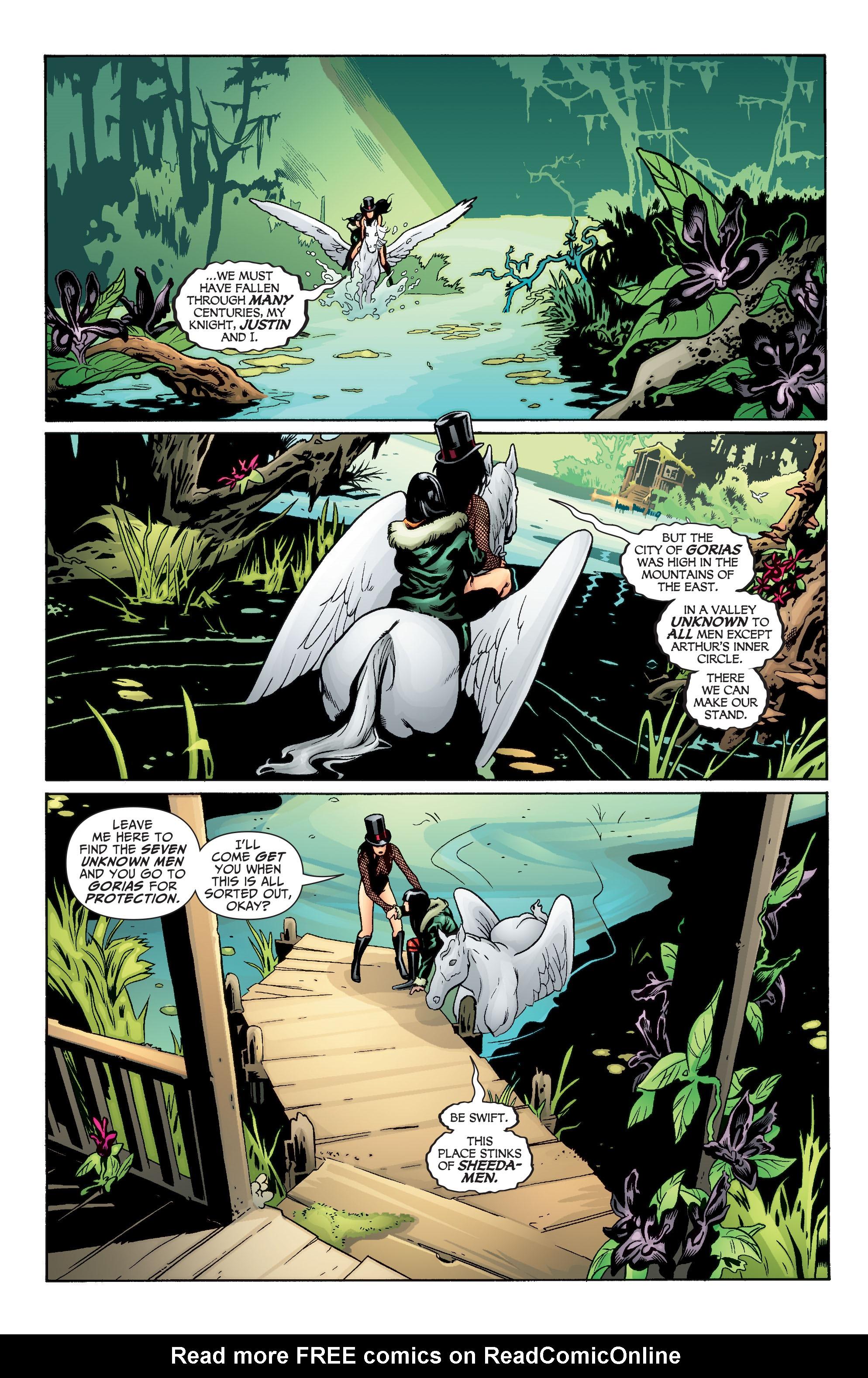 Read online Seven Soldiers: Zatanna comic -  Issue #4 - 3