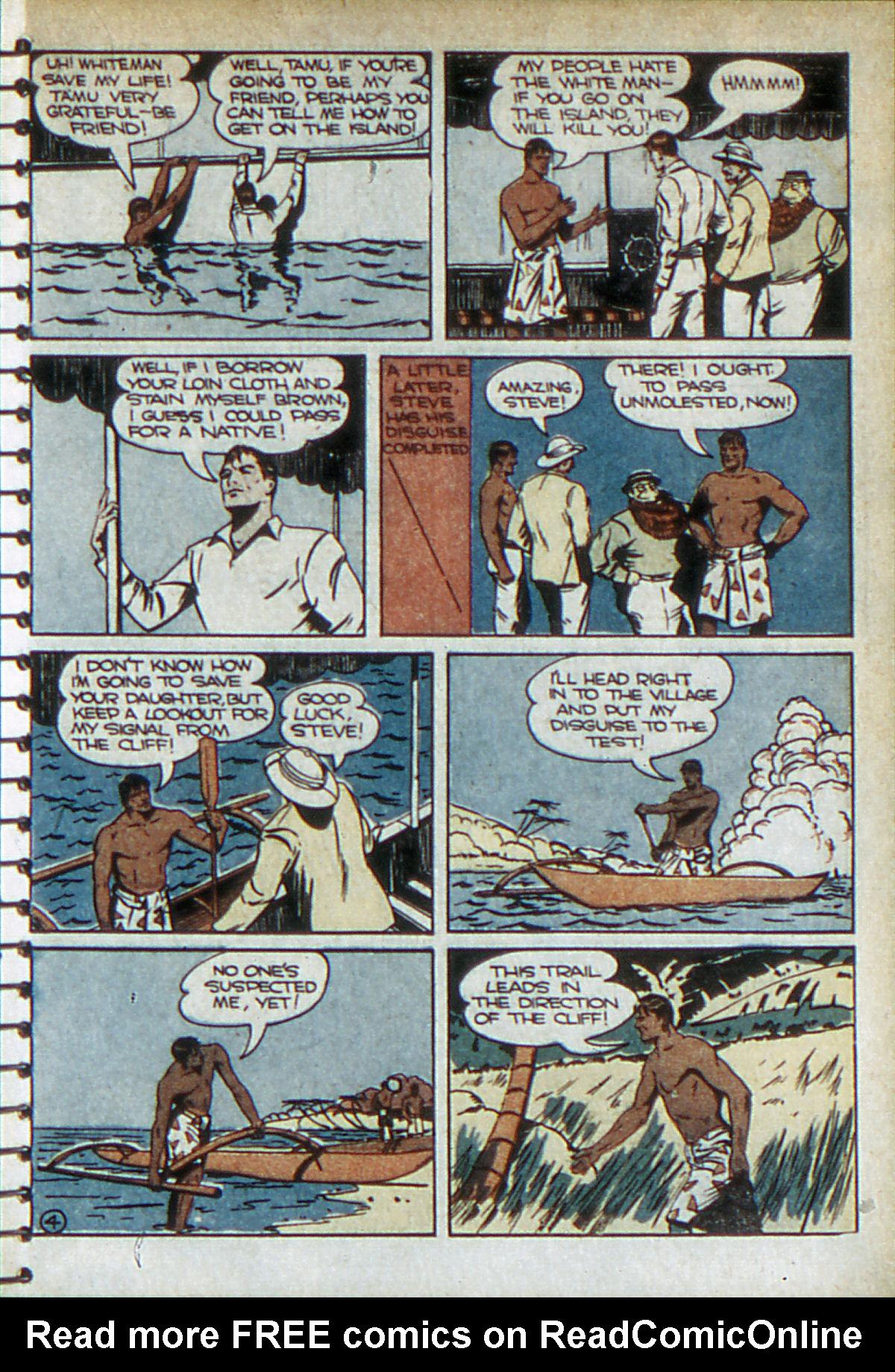 Read online Adventure Comics (1938) comic -  Issue #52 - 32