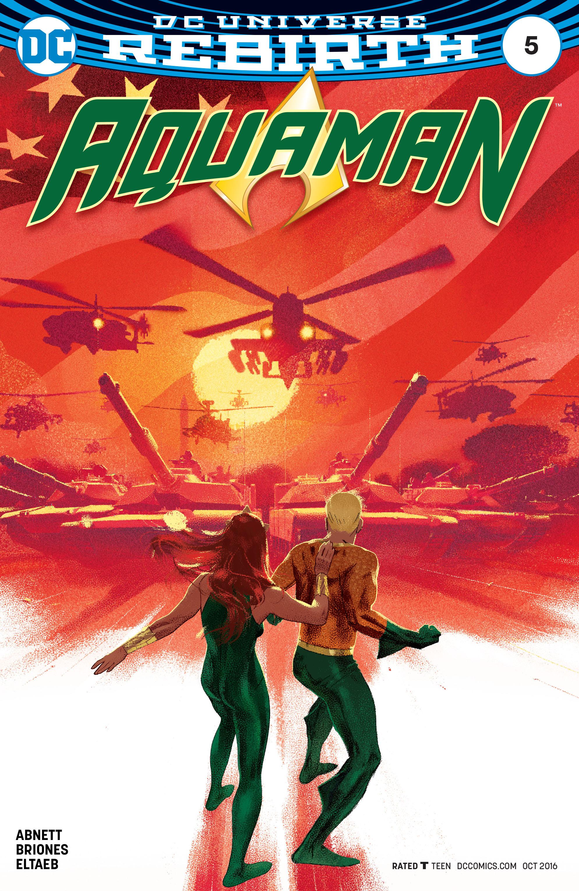 Read online Aquaman (2016) comic -  Issue #5 - 3