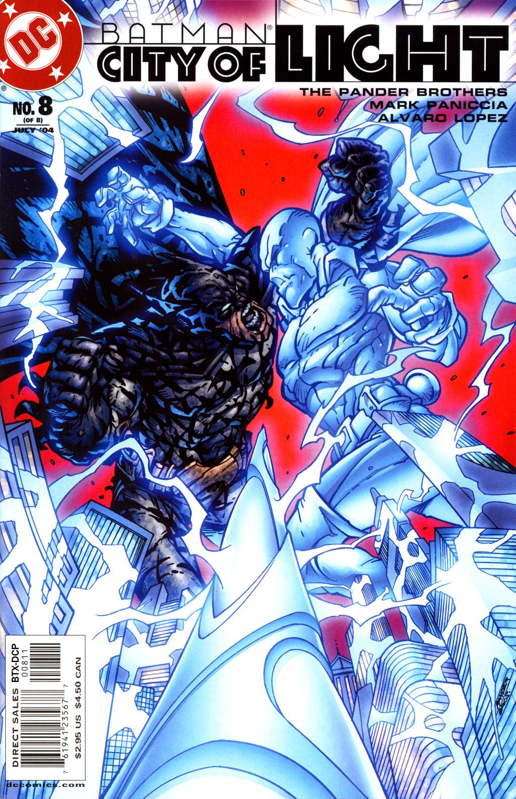 Batman: City of Light 8 Page 1