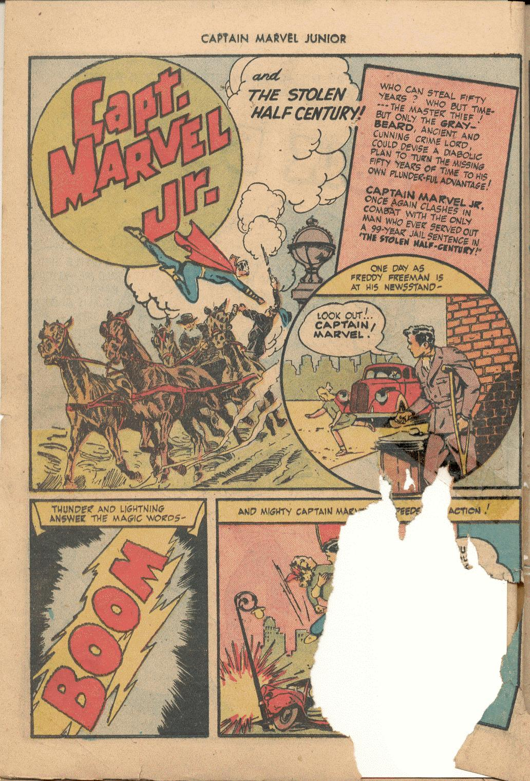 Captain Marvel, Jr. issue 38 - Page 13