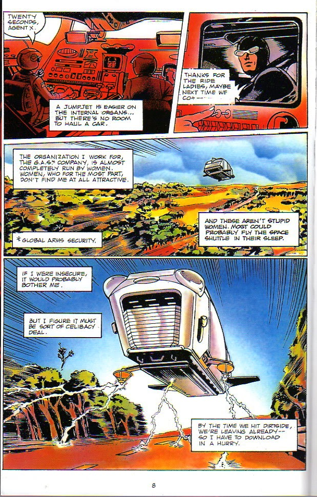 Racer X (1988) issue 1 - Page 2