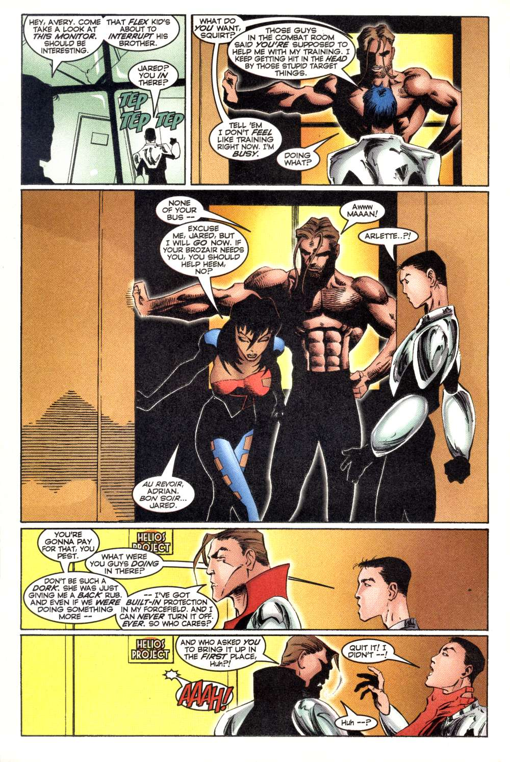 Read online Alpha Flight (1997) comic -  Issue #3 - 11