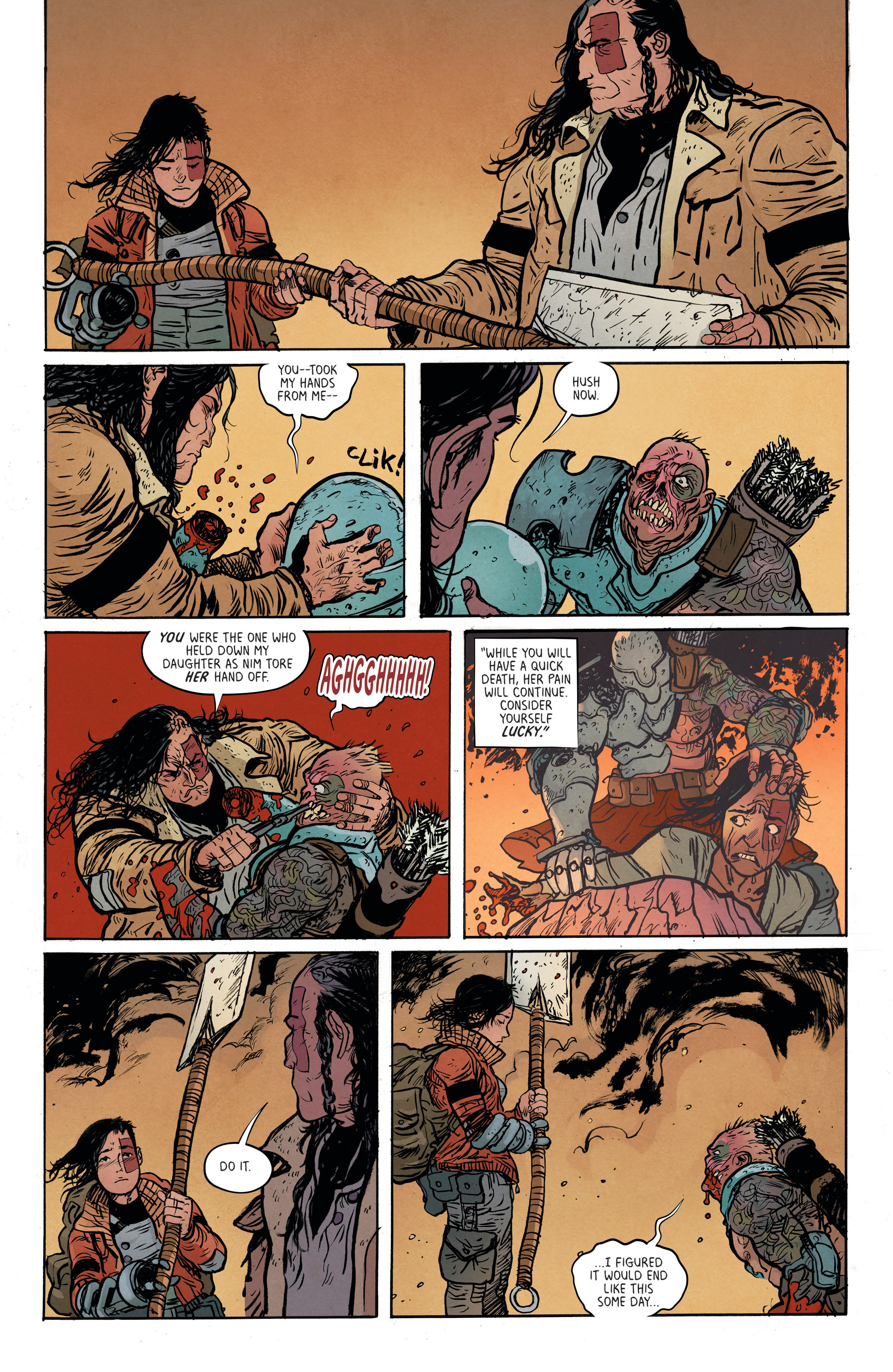 Read online Extremity comic -  Issue #3 - 18