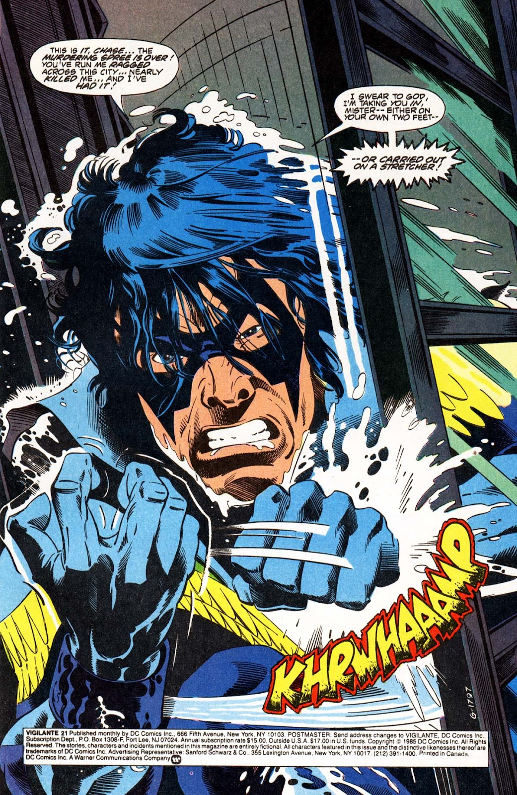 Vigilante (1983) issue 21 - Page 2