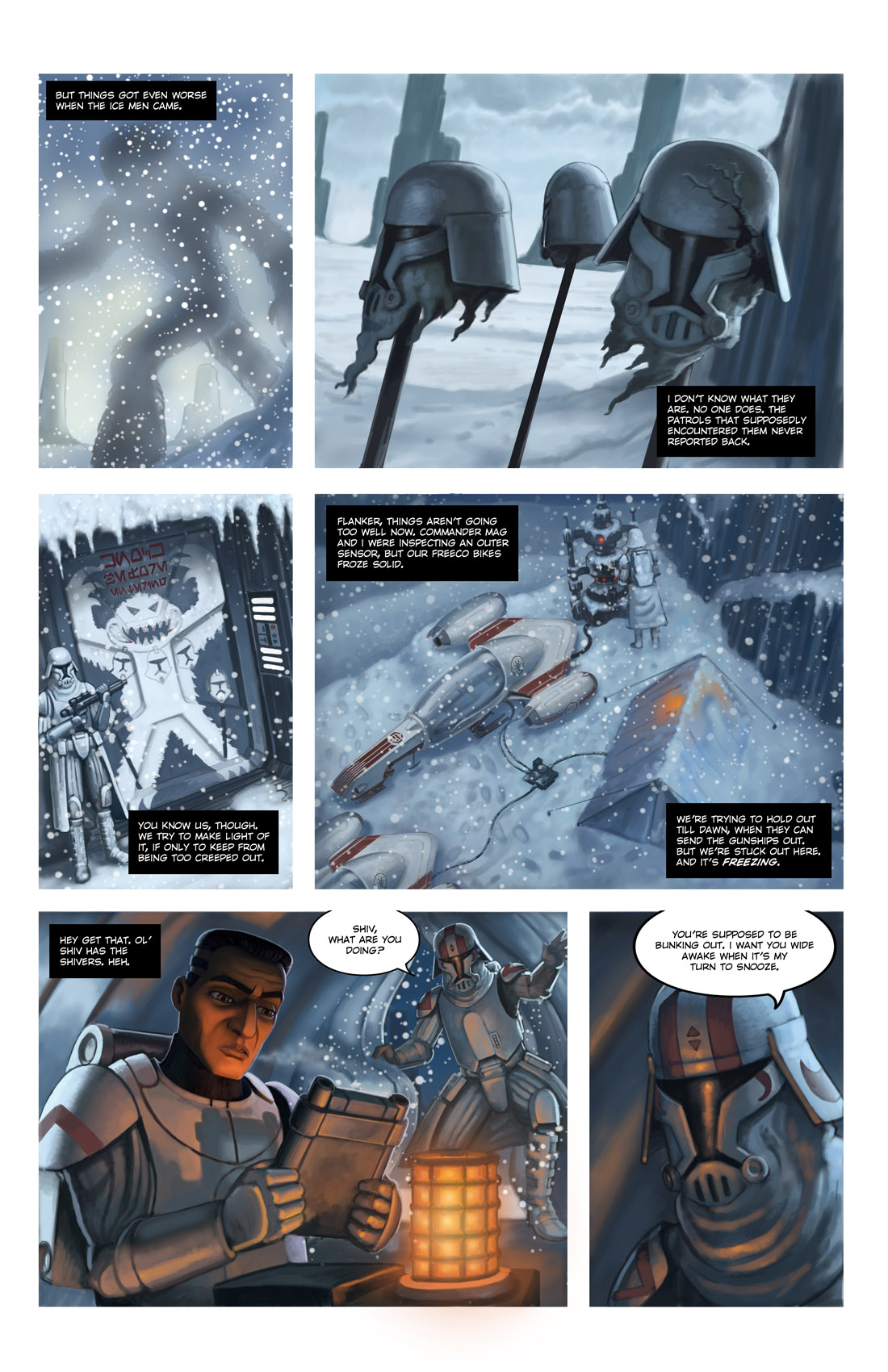 Read online Star Wars: Tales From The Clone Wars comic -  Issue # TPB - 106