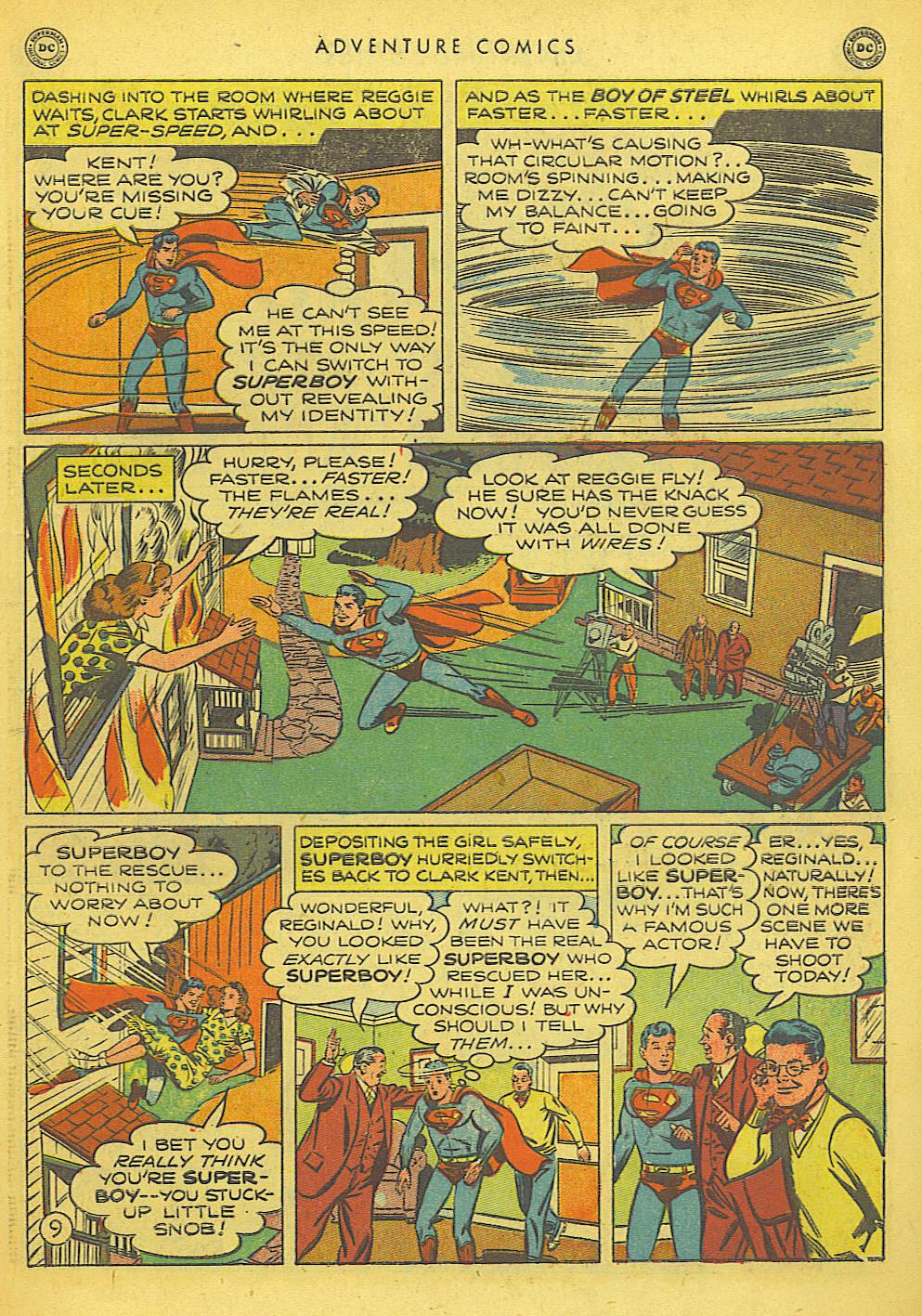 Read online Adventure Comics (1938) comic -  Issue #155 - 11