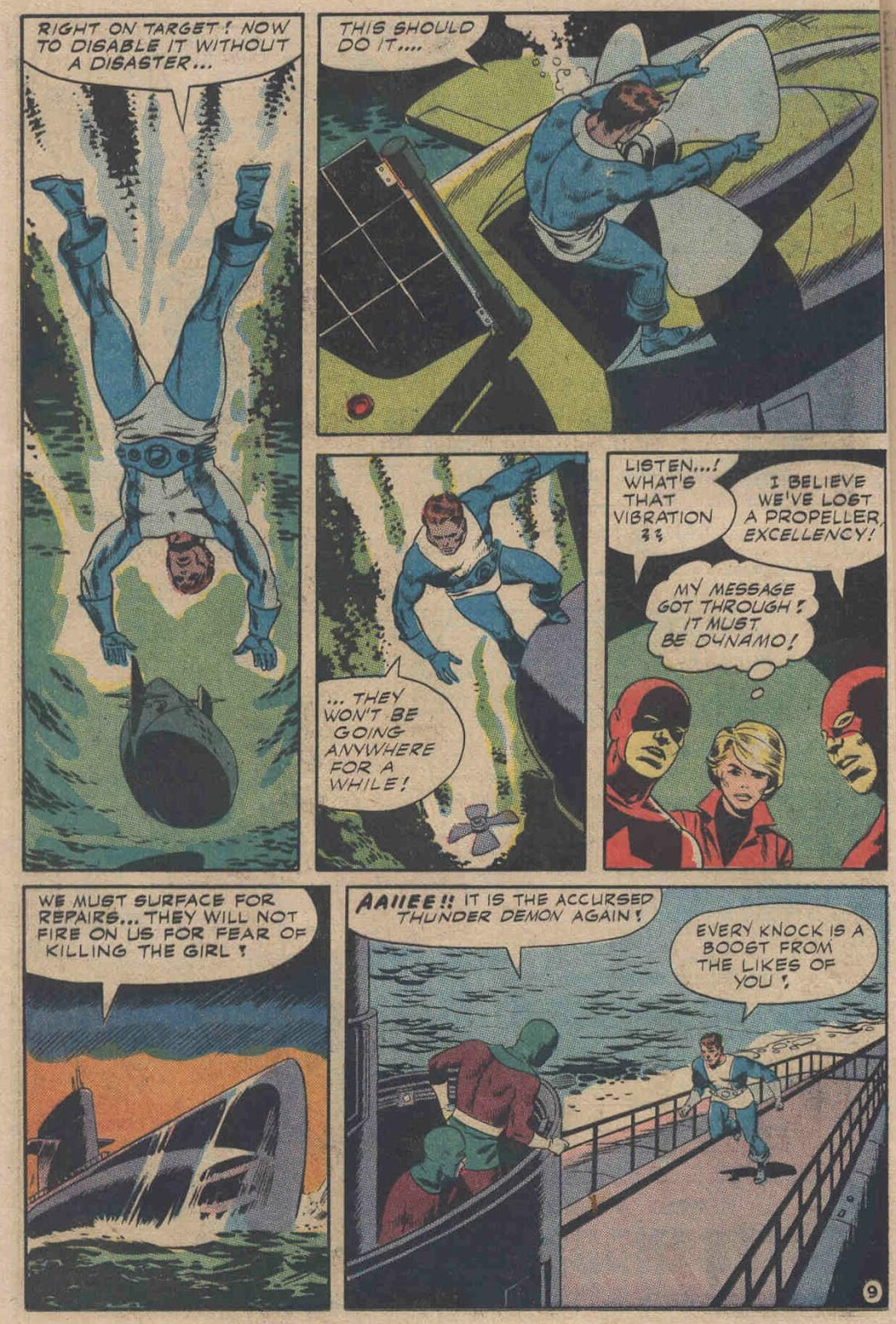 T.H.U.N.D.E.R. Agents (1965) issue 6 - Page 12