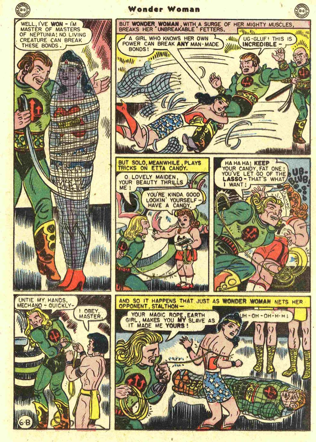 Read online Wonder Woman (1942) comic -  Issue #15 - 25