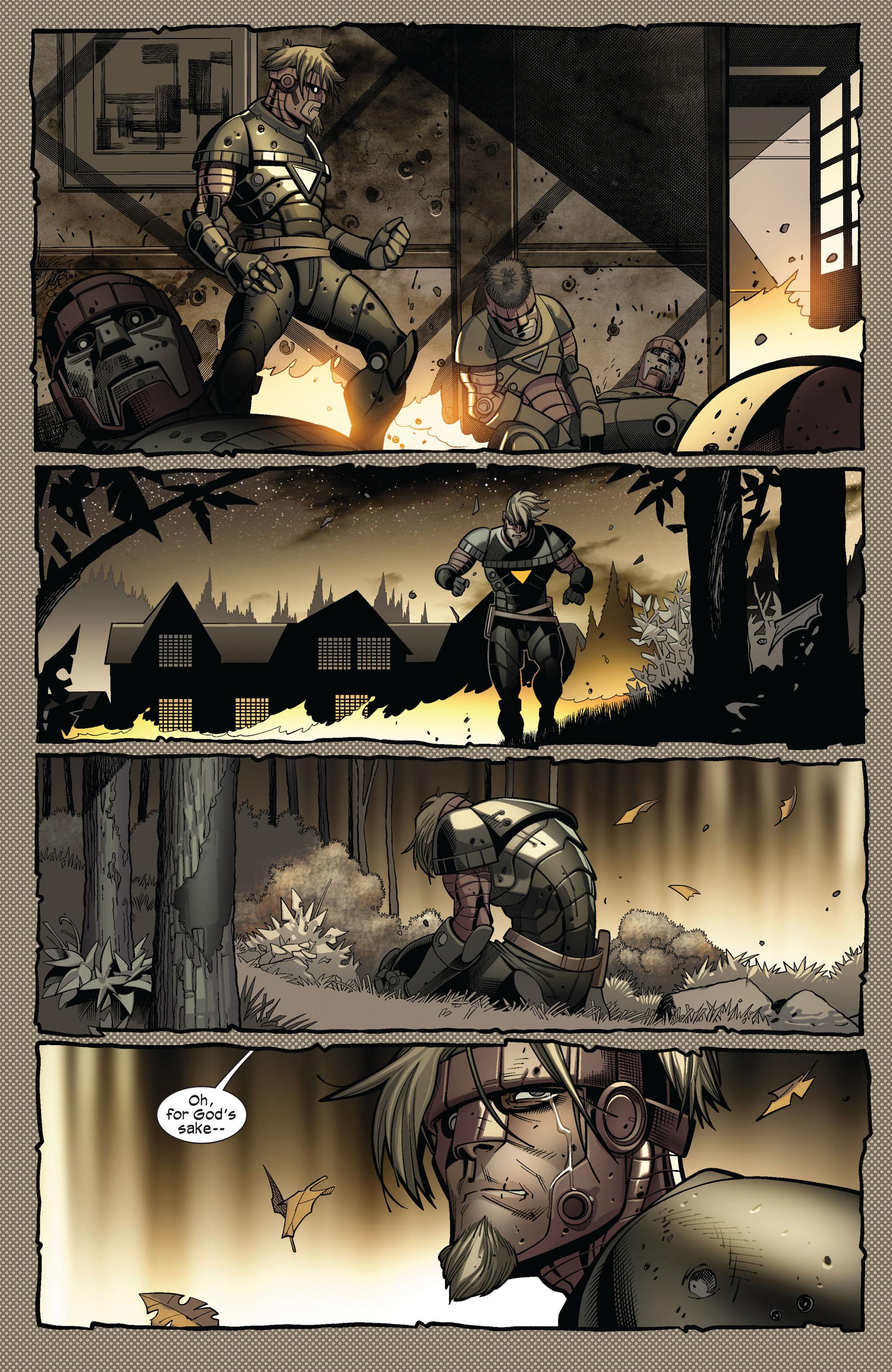 Read online Ultimate Comics X-Men comic -  Issue #4 - 5