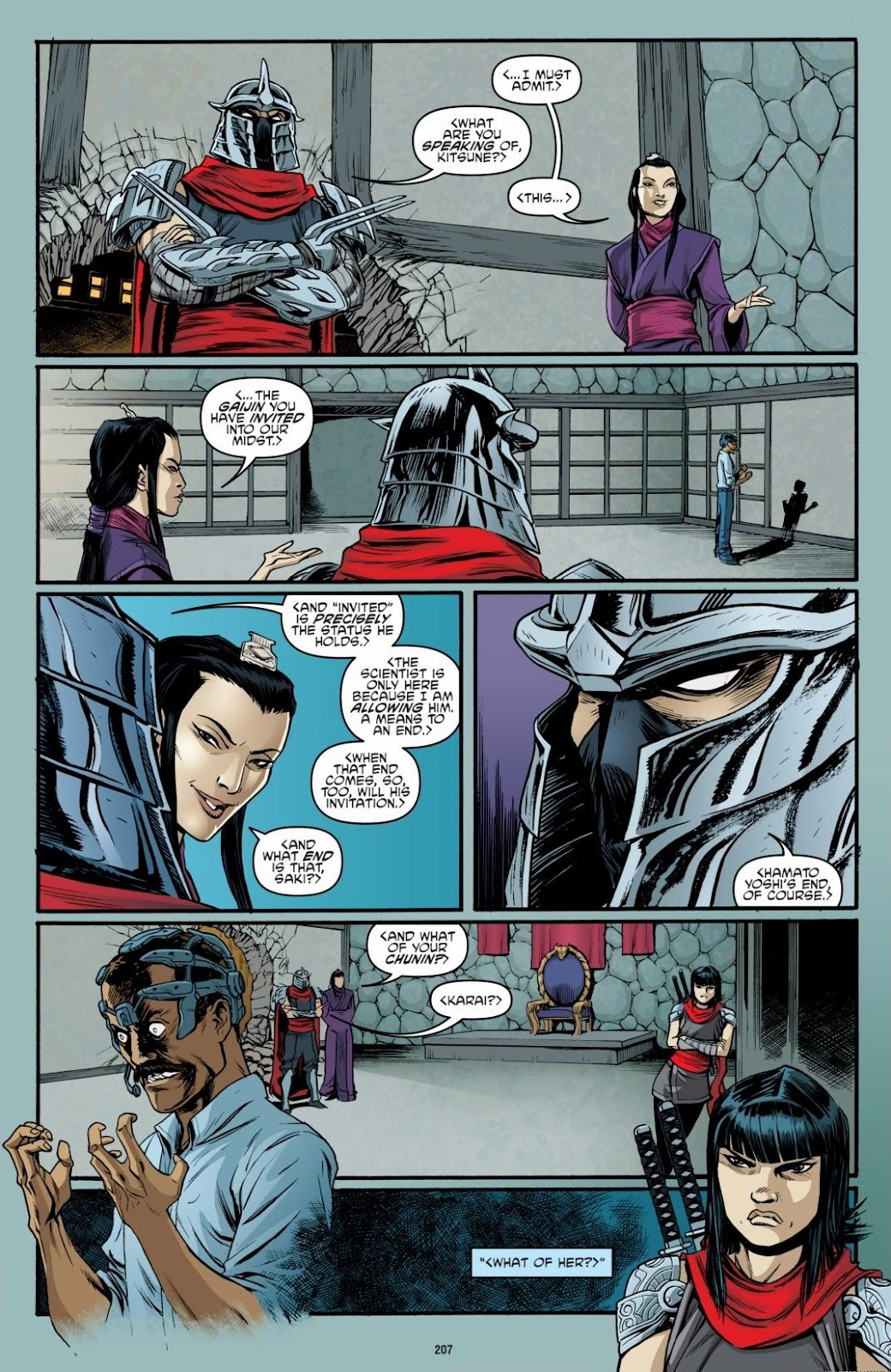 Read online Teenage Mutant Ninja Turtles: The IDW Collection comic -  Issue # TPB 6 (Part 3) - 4