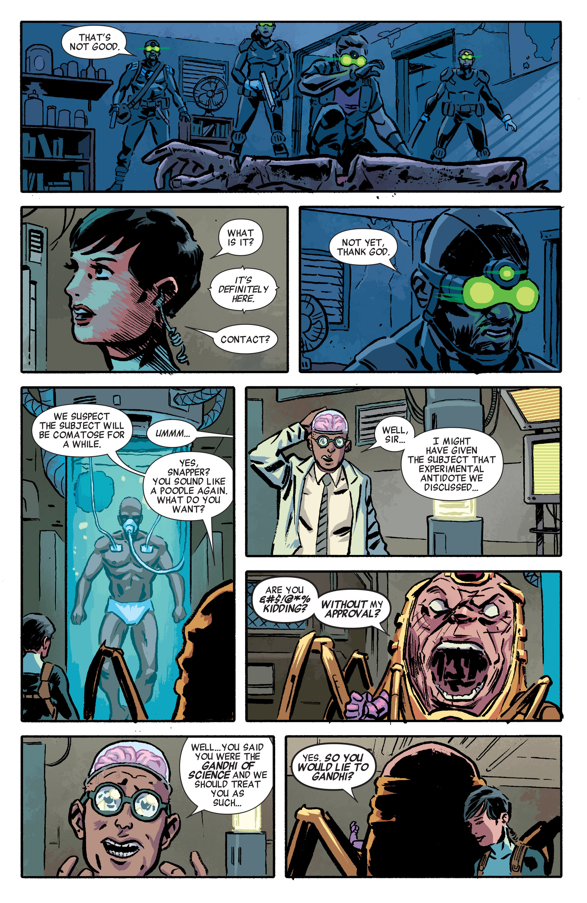 Read online Secret Avengers (2014) comic -  Issue #4 - 8