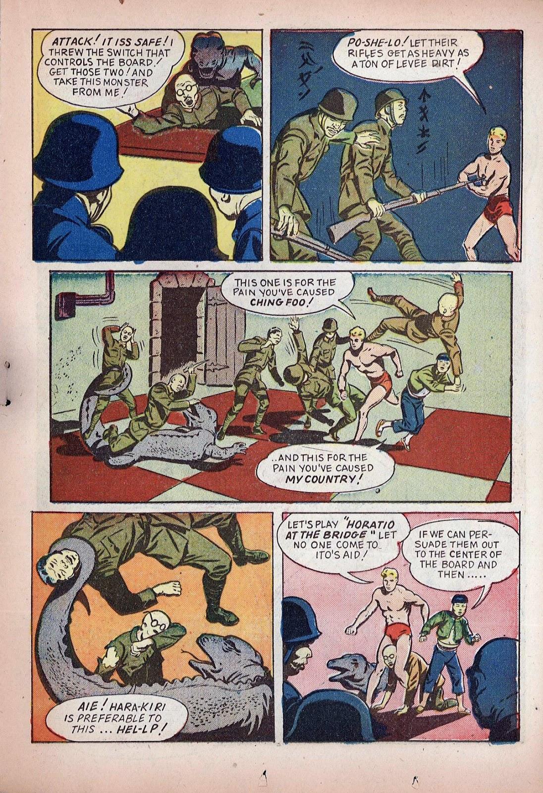 Read online Super-Magician Comics comic -  Issue #20 - 27