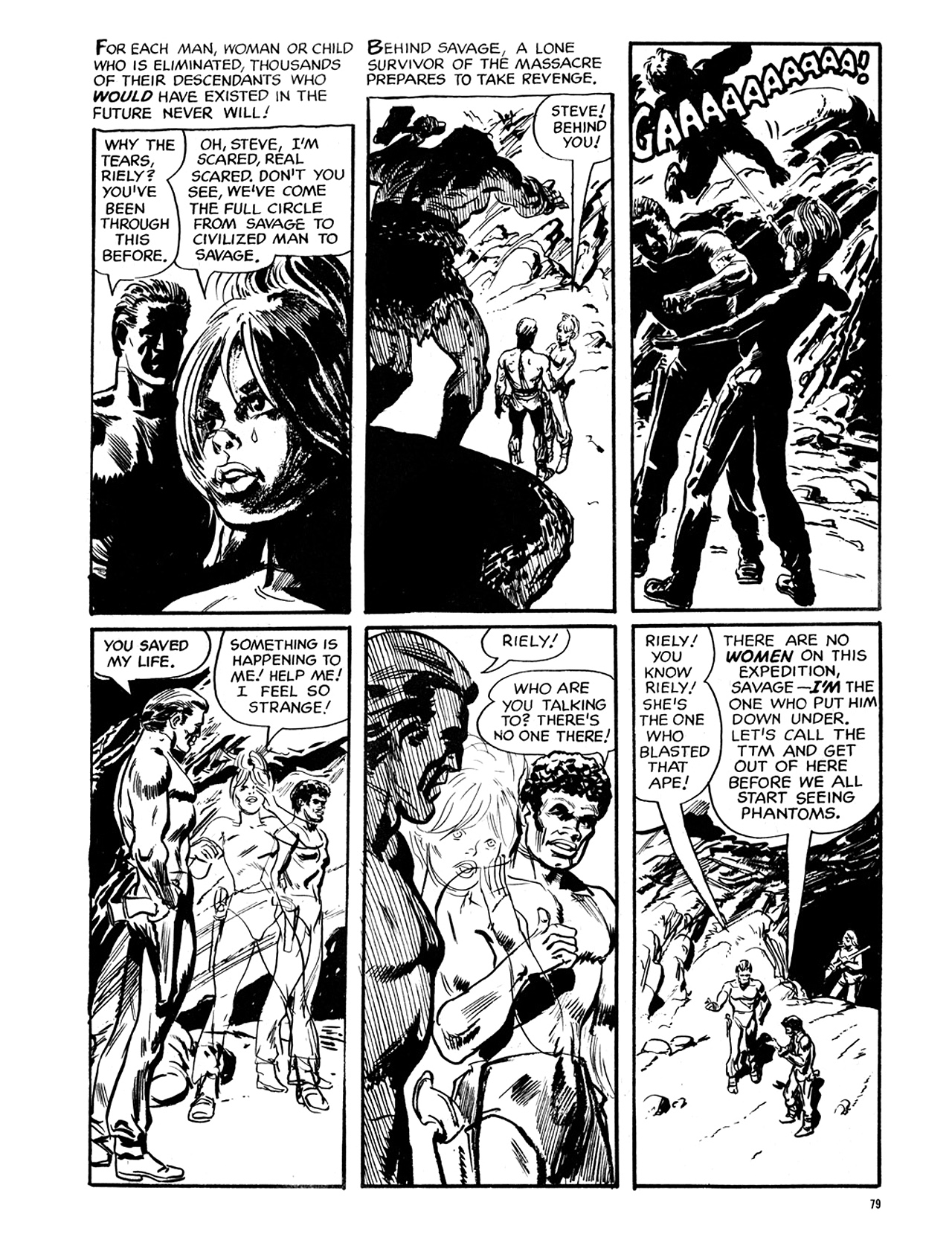 Read online Eerie Archives comic -  Issue # TPB 6 - 80