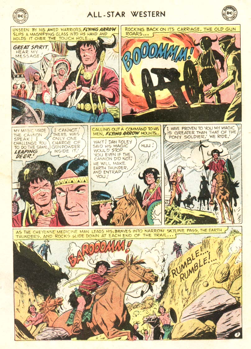 Read online All-Star Western (1951) comic -  Issue #91 - 16
