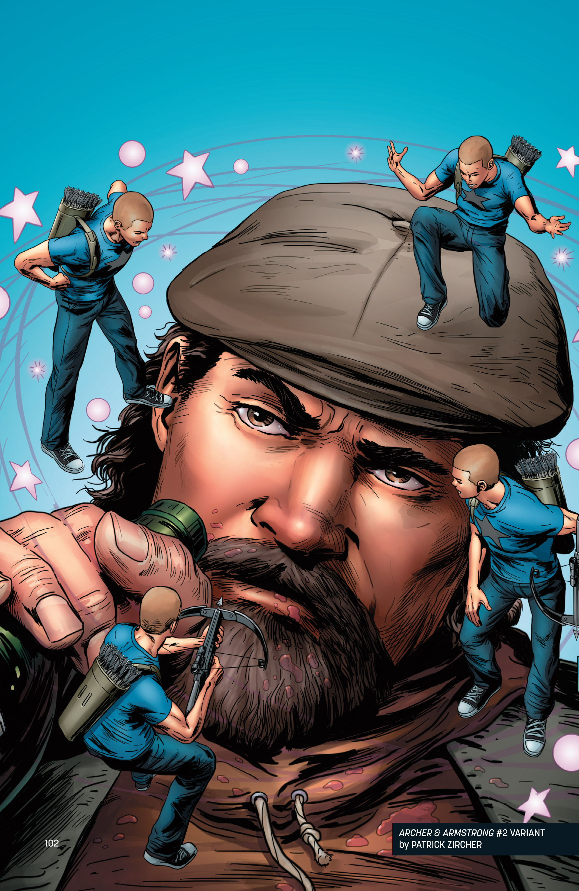 Read online Archer and Armstrong comic -  Issue #Archer and Armstrong _TPB 1 - 103