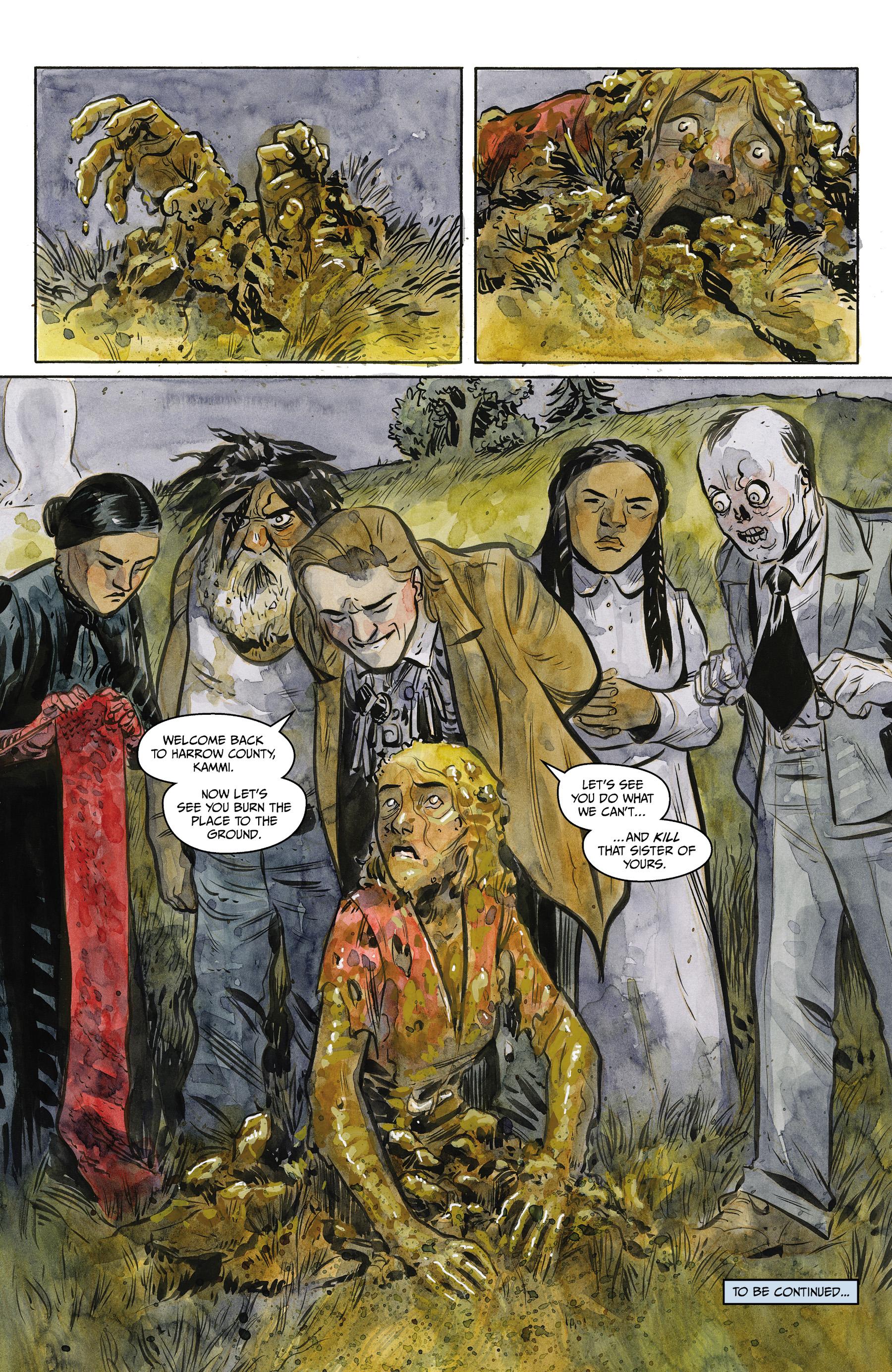 Read online Harrow County comic -  Issue #24 - 23