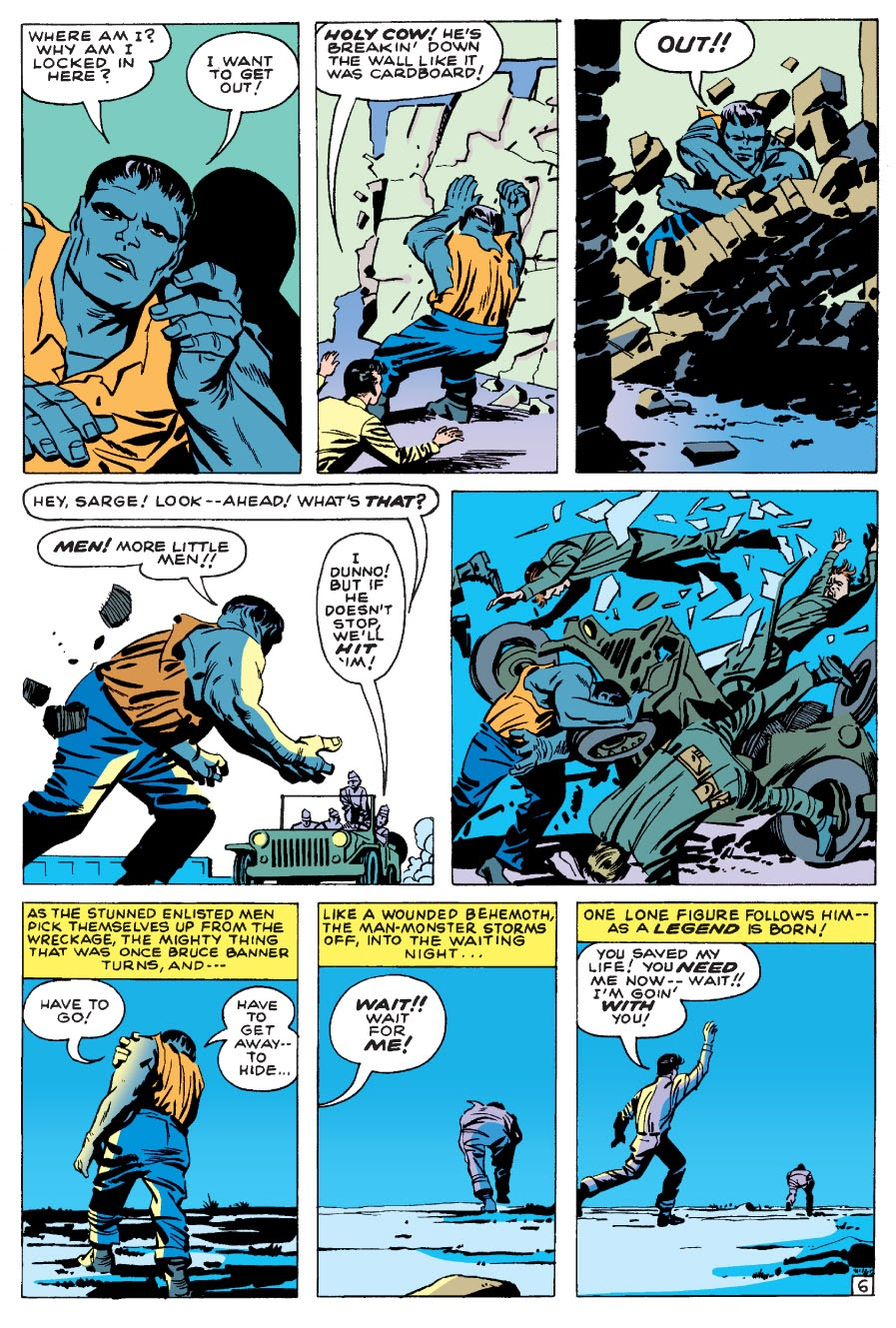 Read online Marvel Masterworks: The Incredible Hulk comic -  Issue # TPB 1 (Part 1) - 9