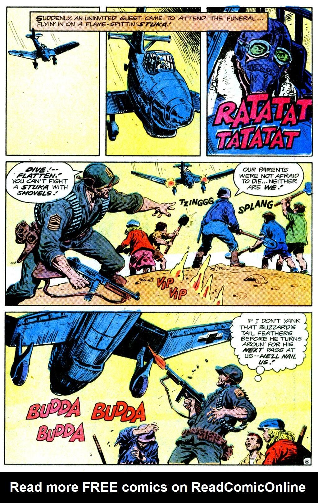 Read online Sgt. Rock comic -  Issue #358 - 8