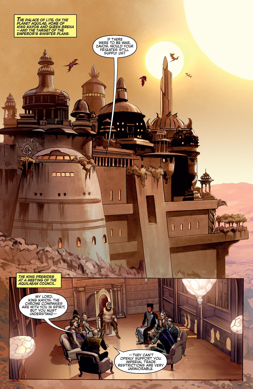 Read online Star Wars Legends: Infinities - Epic Collection comic -  Issue # TPB (Part 4) - 7