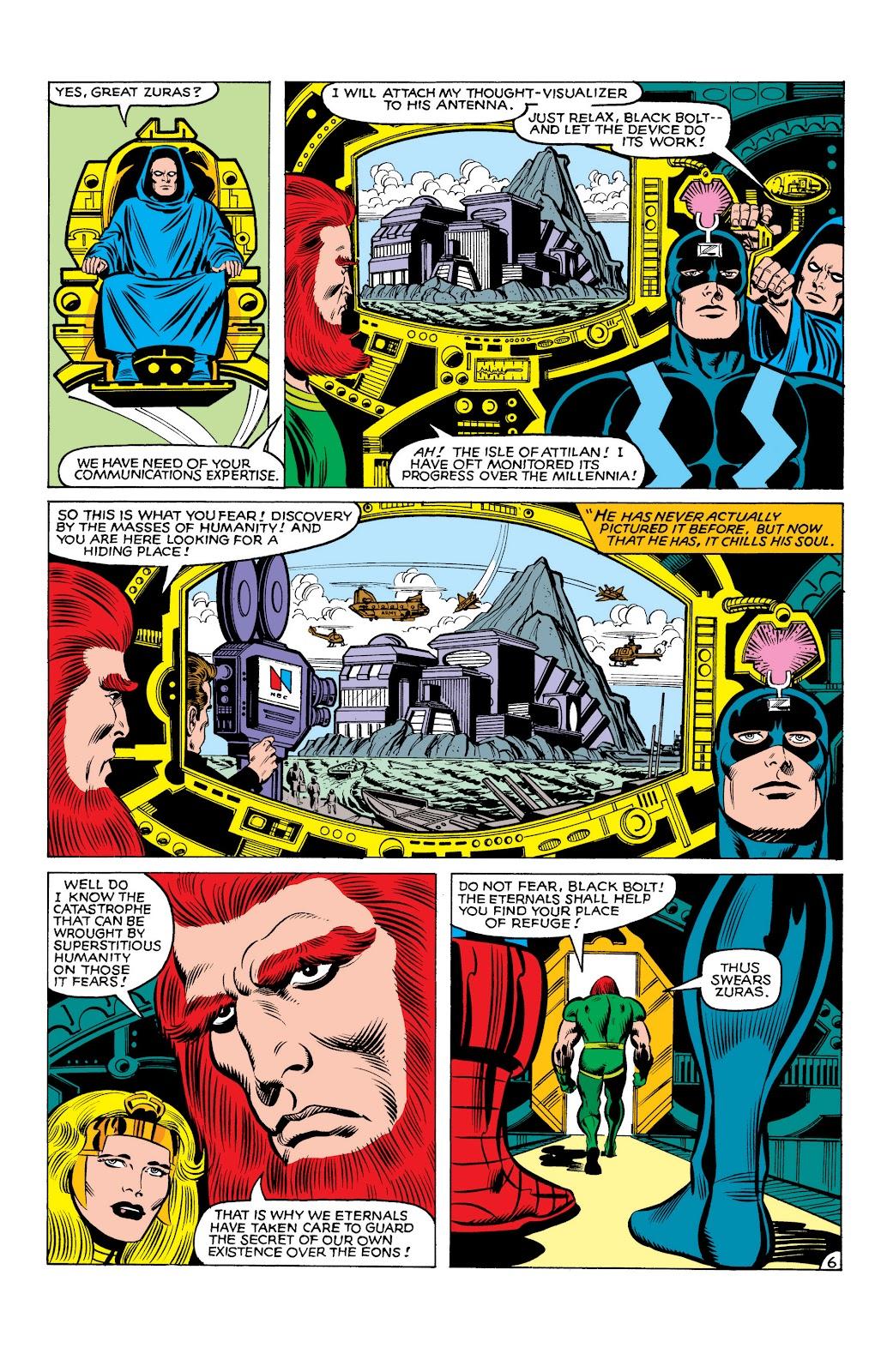 Read online Marvel Masterworks: The Inhumans comic -  Issue # TPB 2 (Part 3) - 87