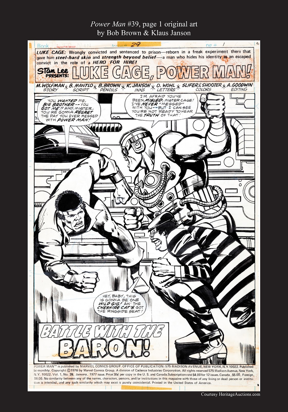 Read online Marvel Masterworks: Luke Cage, Power Man comic -  Issue # TPB 3 (Part 3) - 121