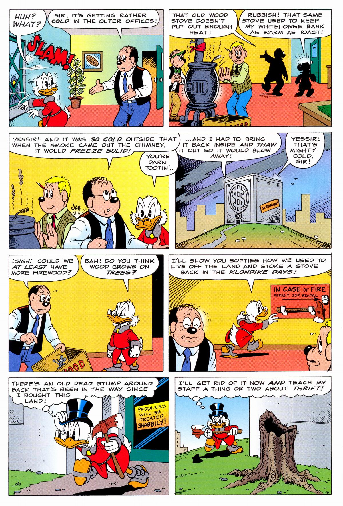Read online Uncle Scrooge (1953) comic -  Issue #331 - 4