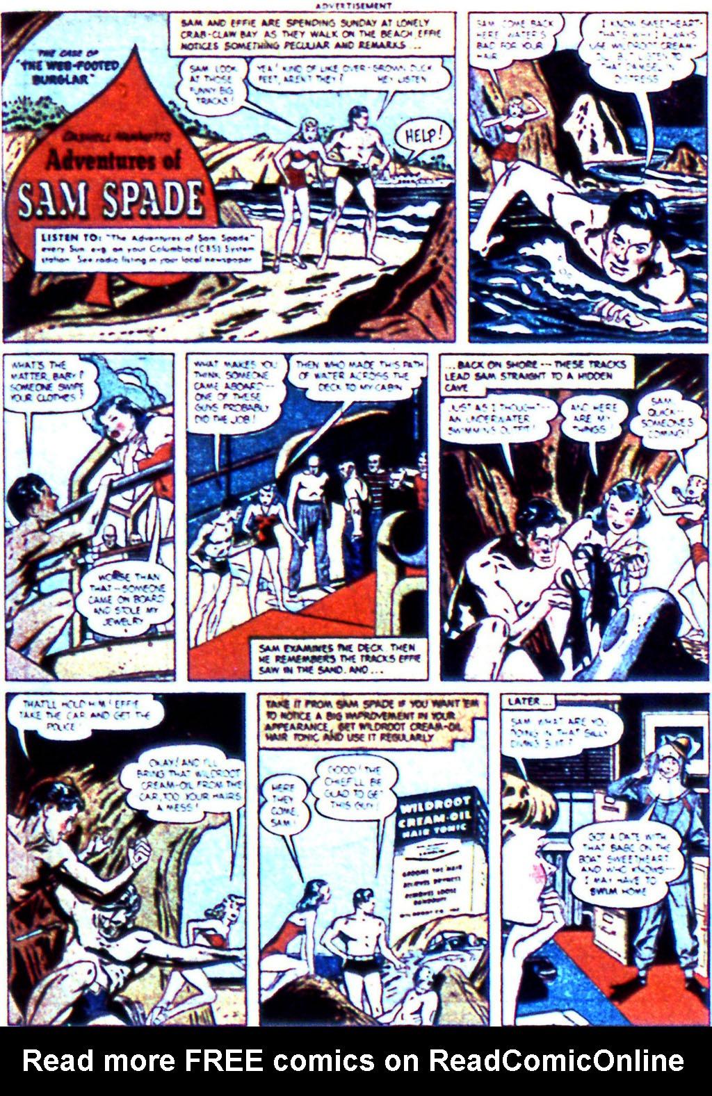 Read online Adventure Comics (1938) comic -  Issue #123 - 35