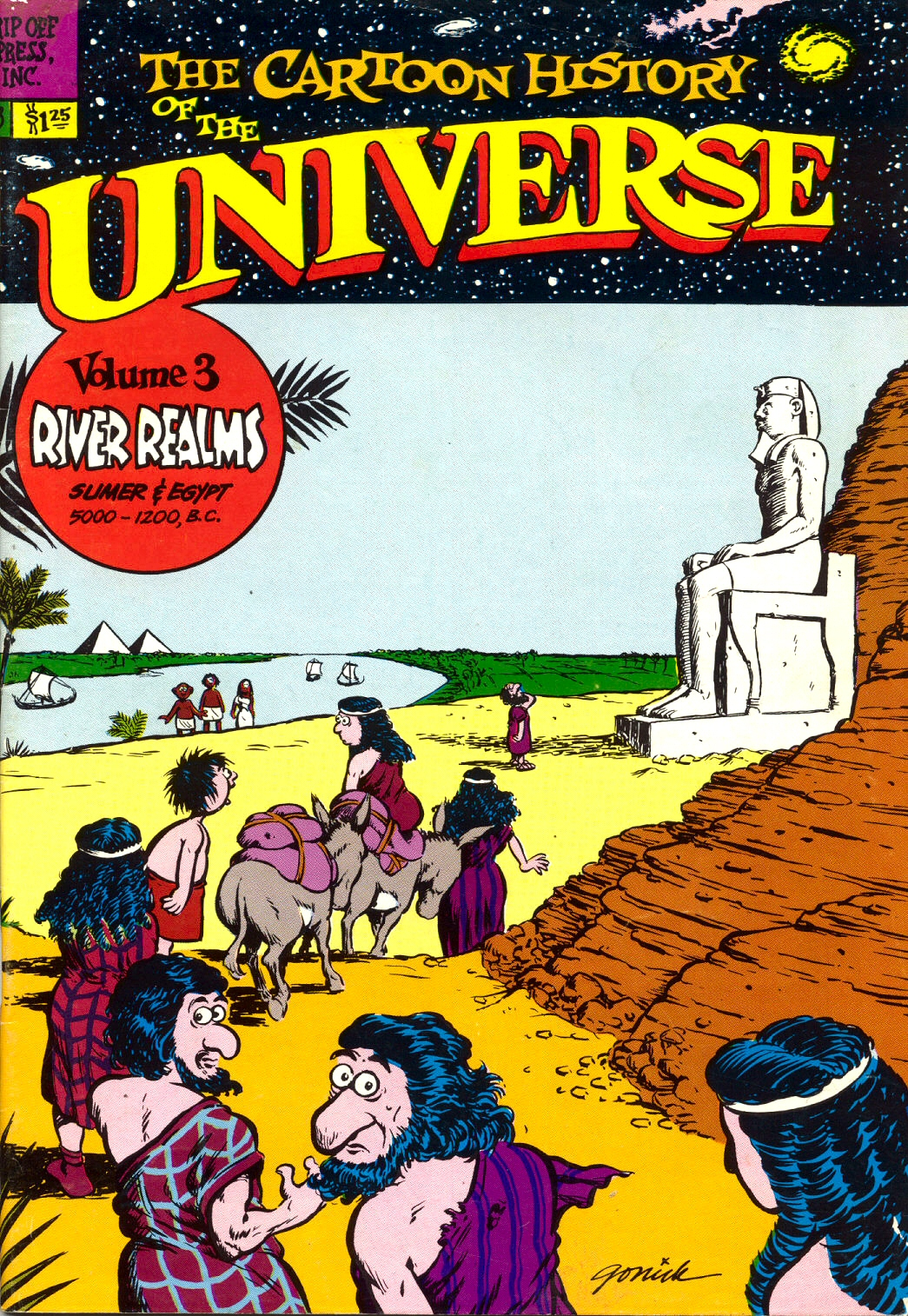 Read online The Cartoon History of the Universe comic -  Issue #3 - 1