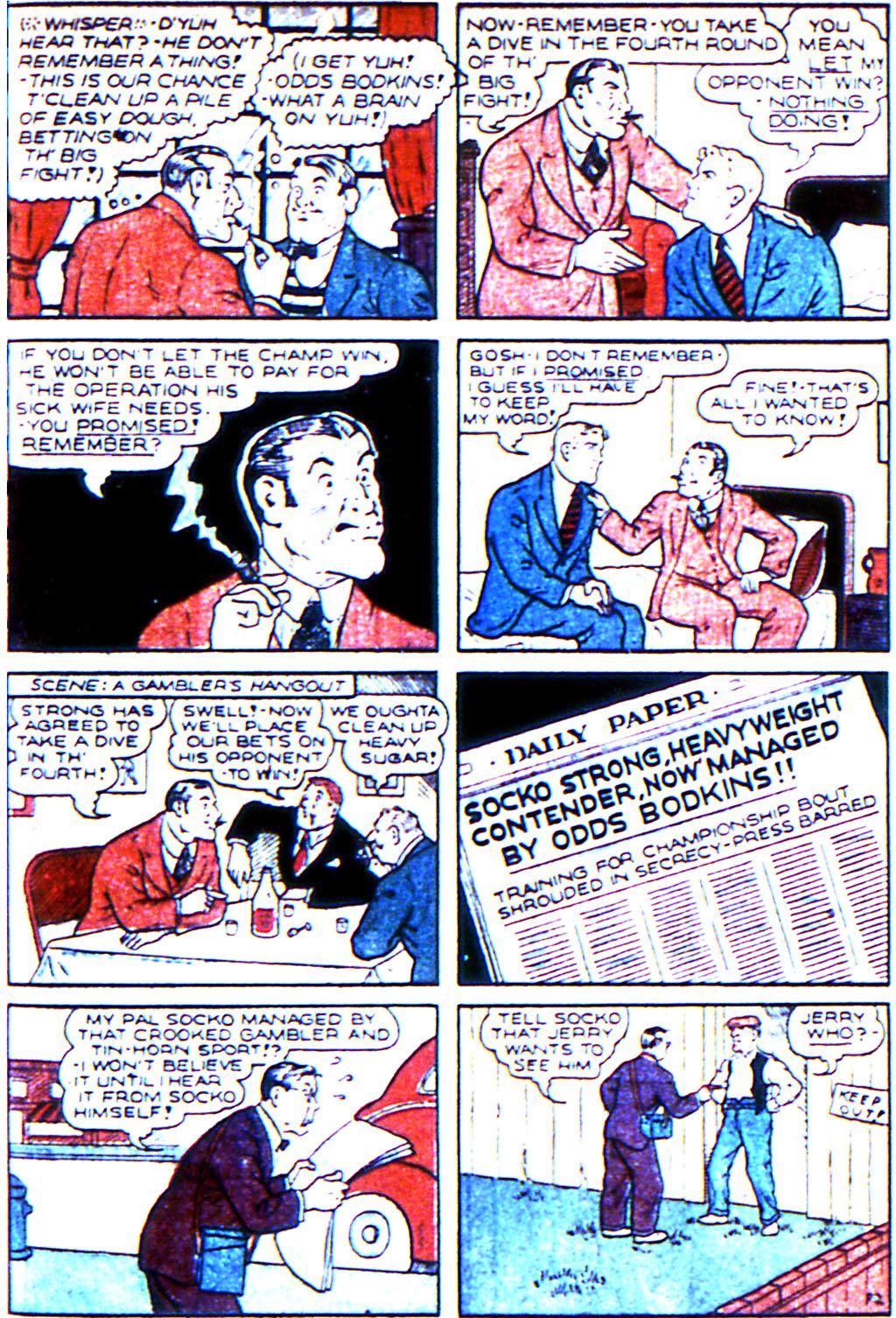 Read online Adventure Comics (1938) comic -  Issue #45 - 29