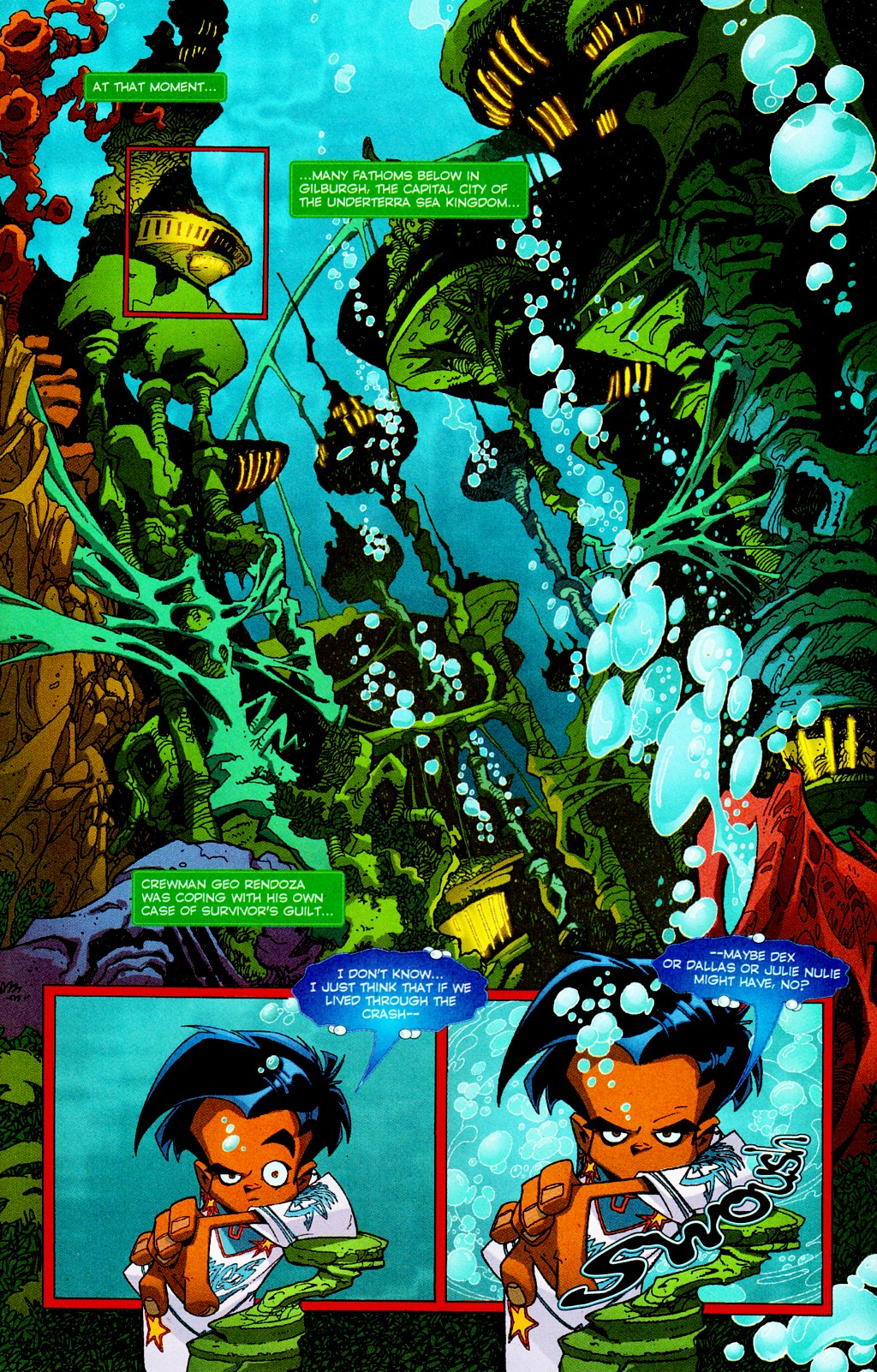 Read online Monster World (Existed) comic -  Issue #3 - 6