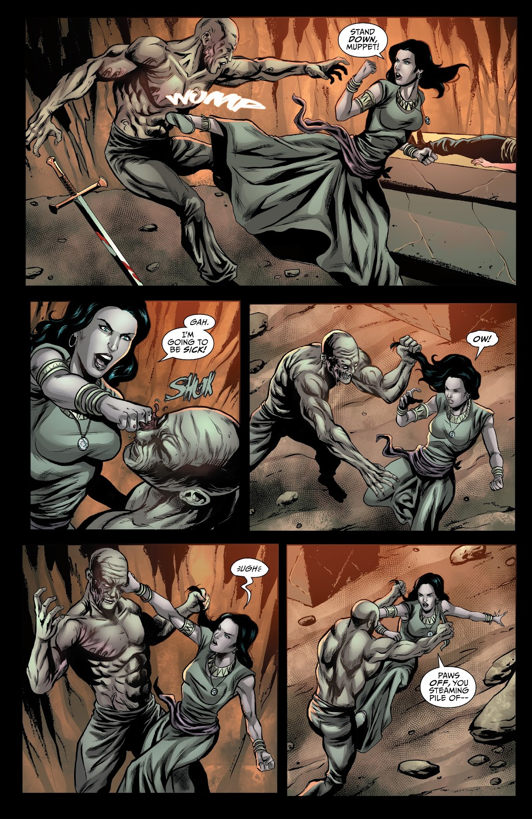 Read online Van Helsing: Sword of Heaven comic -  Issue #5 - 5
