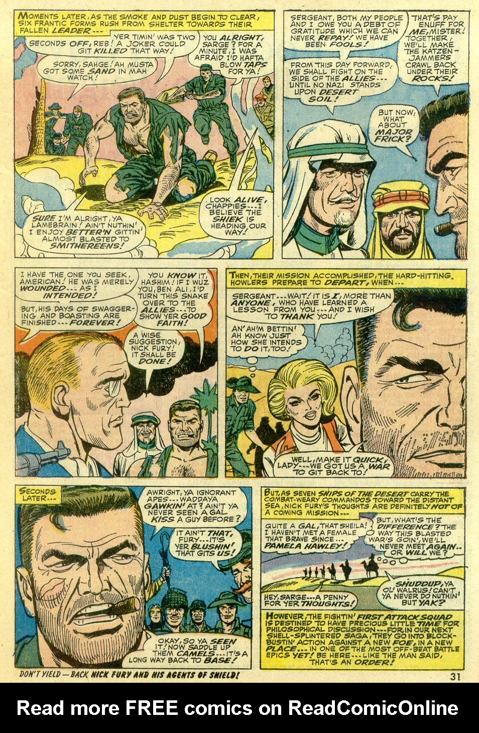 Read online Sgt. Fury comic -  Issue #107 - 33