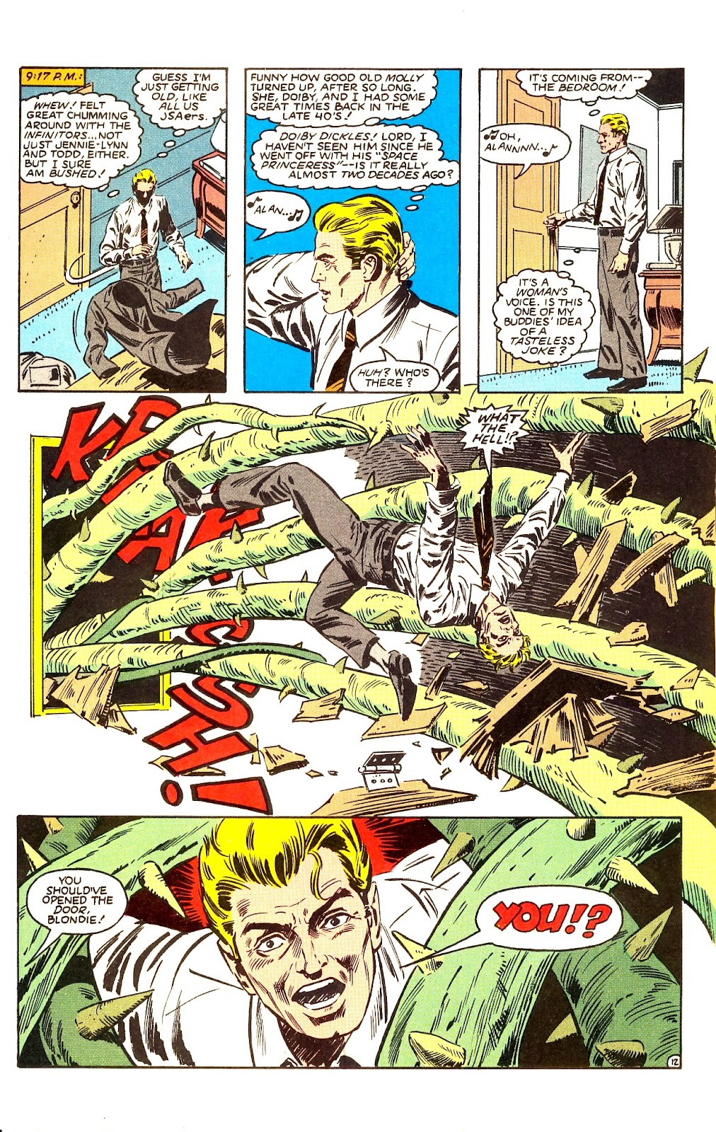 Infinity Inc. (1984) issue Annual 1 - Page 15