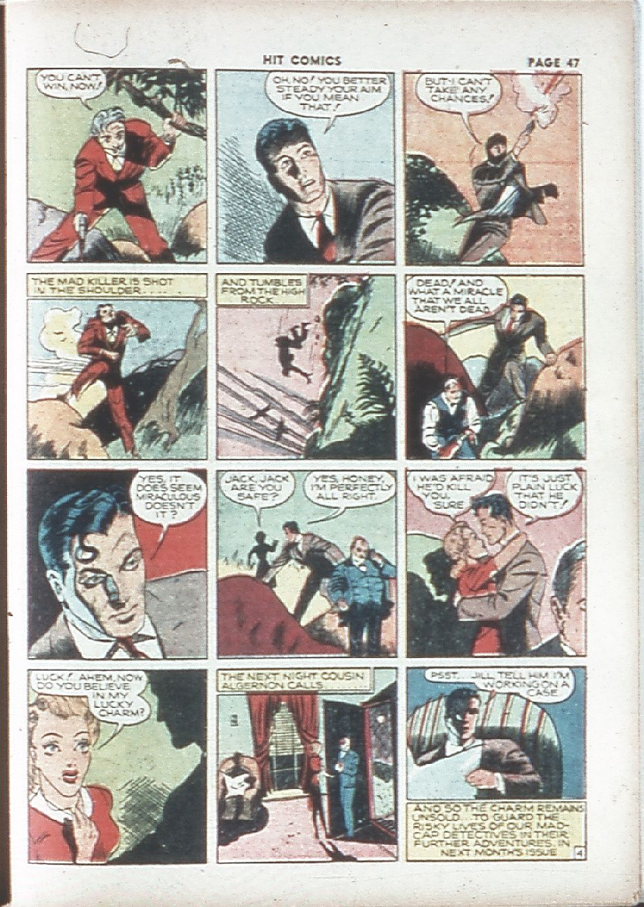 Read online Hit Comics comic -  Issue #7 - 49