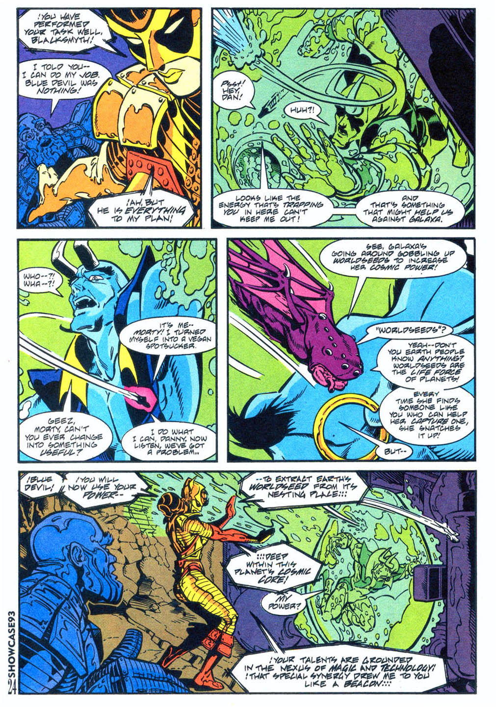 Read online Showcase '93 comic -  Issue #4 - 21
