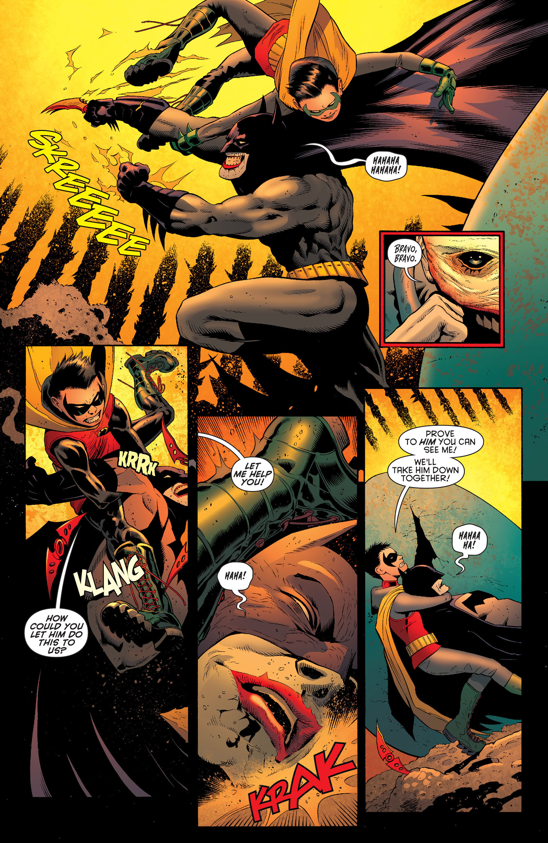 Read online Batman and Robin (2011) comic -  Issue #16 - 6