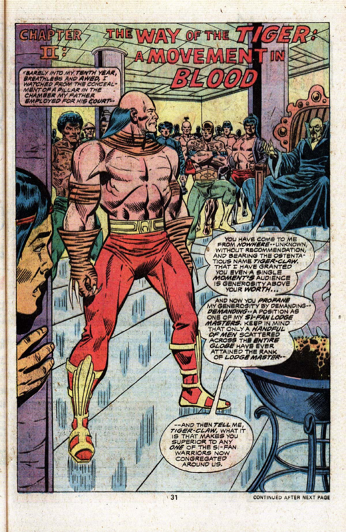 Read online Giant-Size Master of Kung Fu comic -  Issue #4 - 26