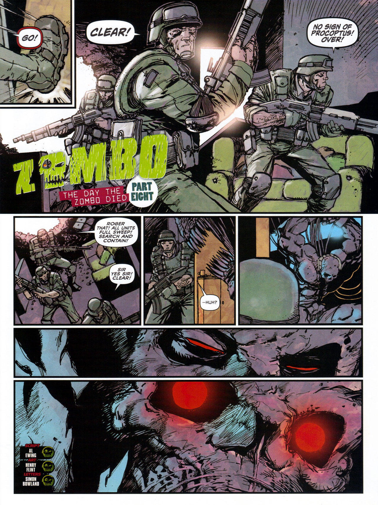 Read online 2000 AD comic -  Issue #1746 - 126