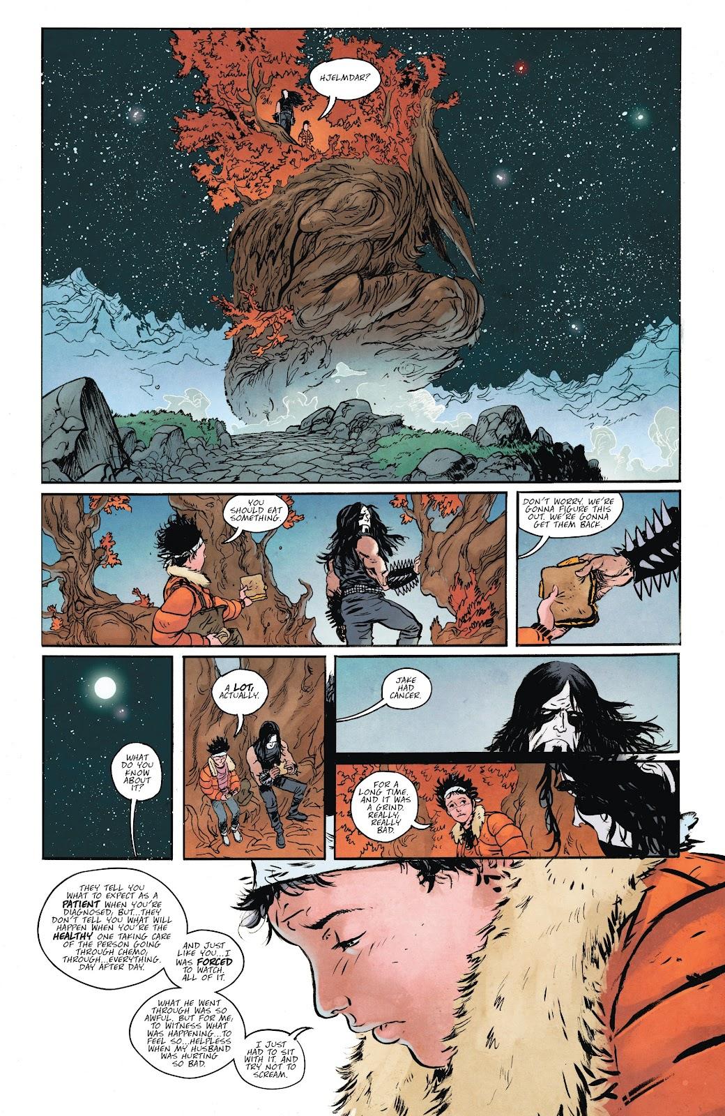 Read online Murder Falcon comic -  Issue #6 - 14