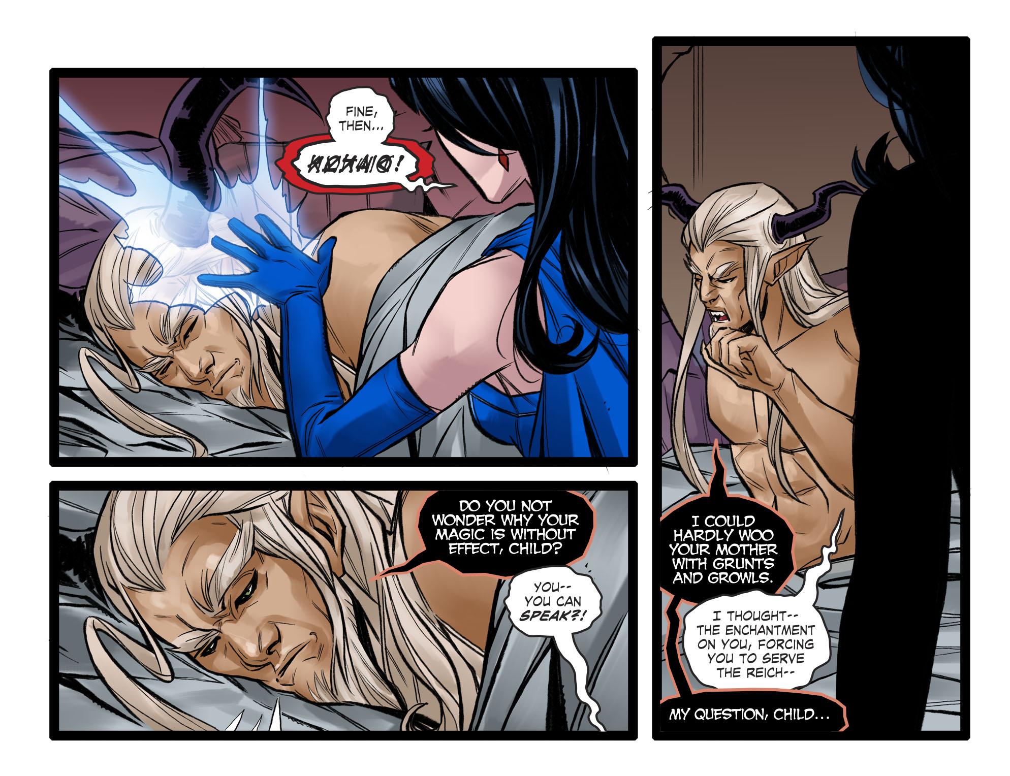Read online DC Comics: Bombshells comic -  Issue #96 - 10