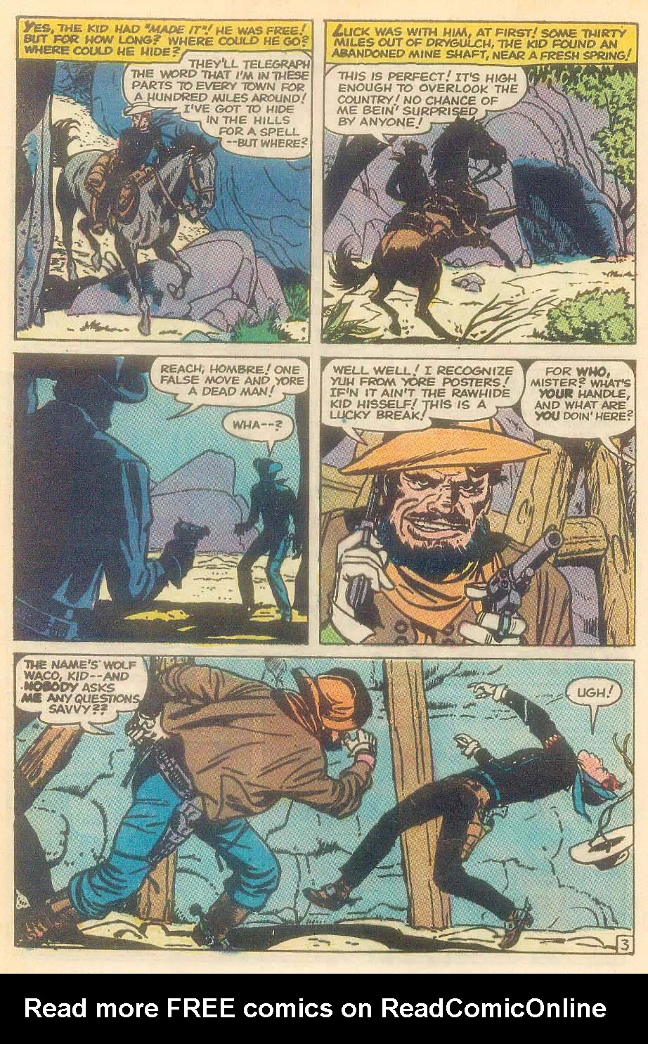 The Rawhide Kid (1955) issue 92 - Page 22