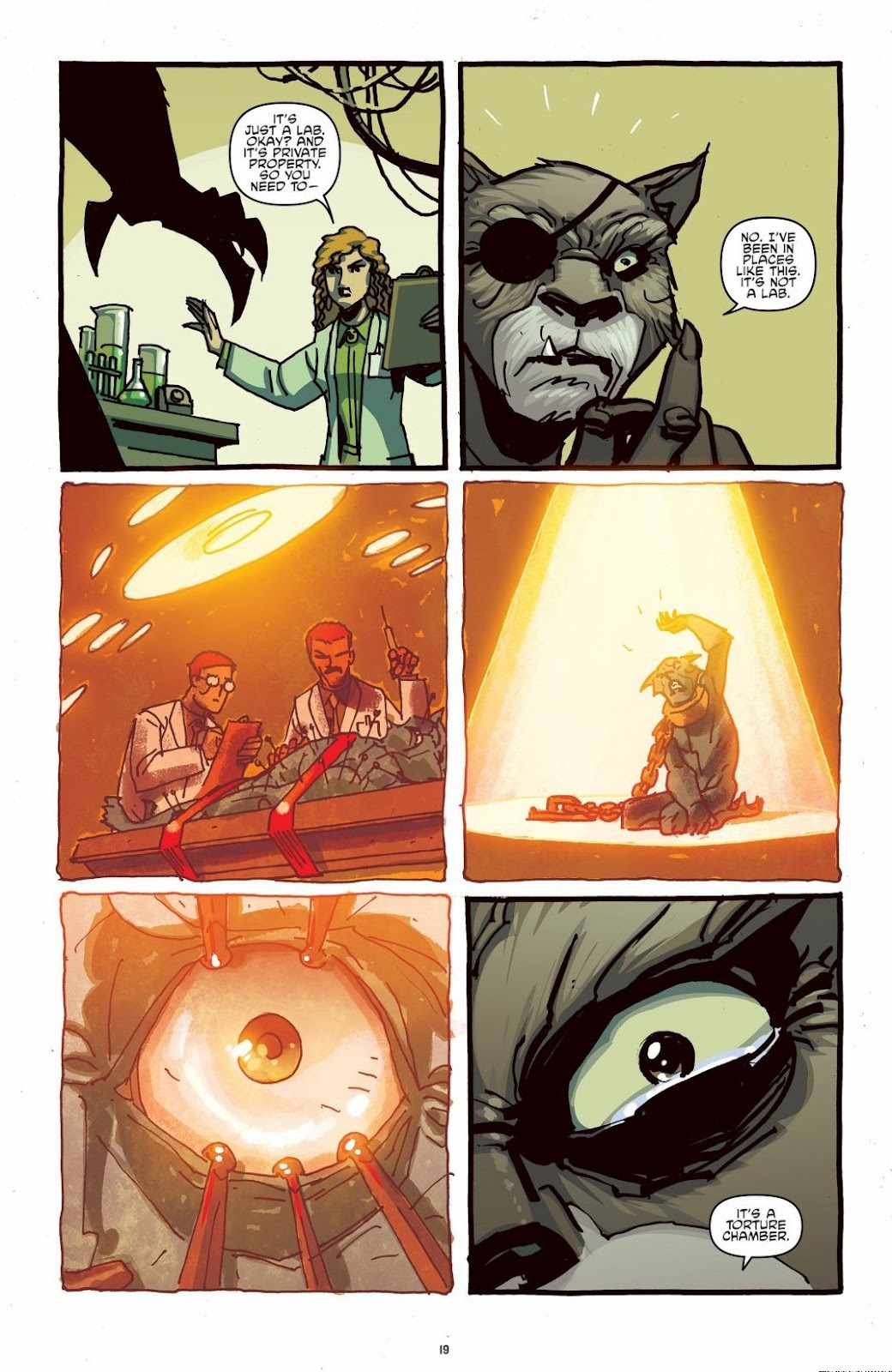 Read online Teenage Mutant Ninja Turtles: The IDW Collection comic -  Issue # TPB 6 (Part 1) - 18