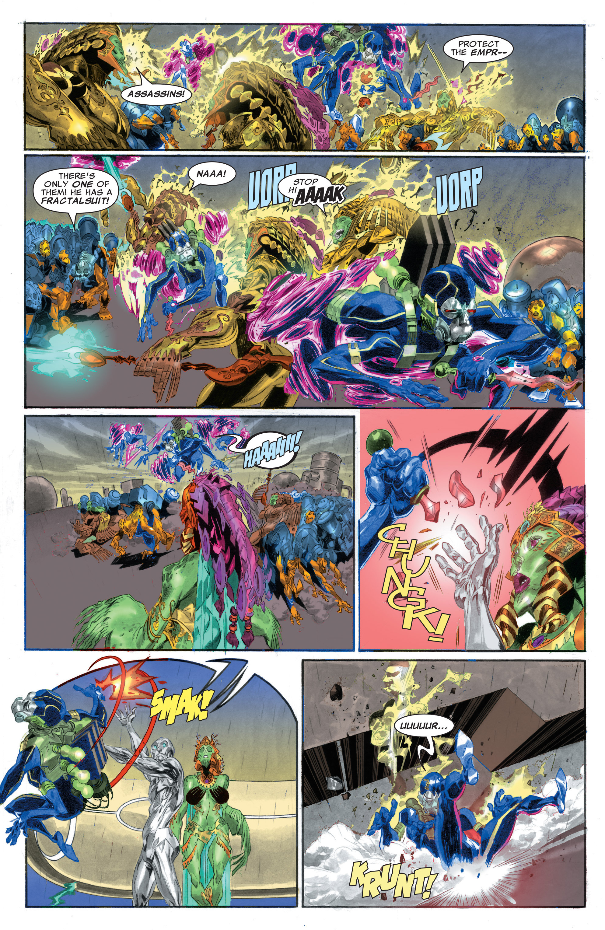 Read online Silver Surfer: In Thy Name comic -  Issue #2 - 9