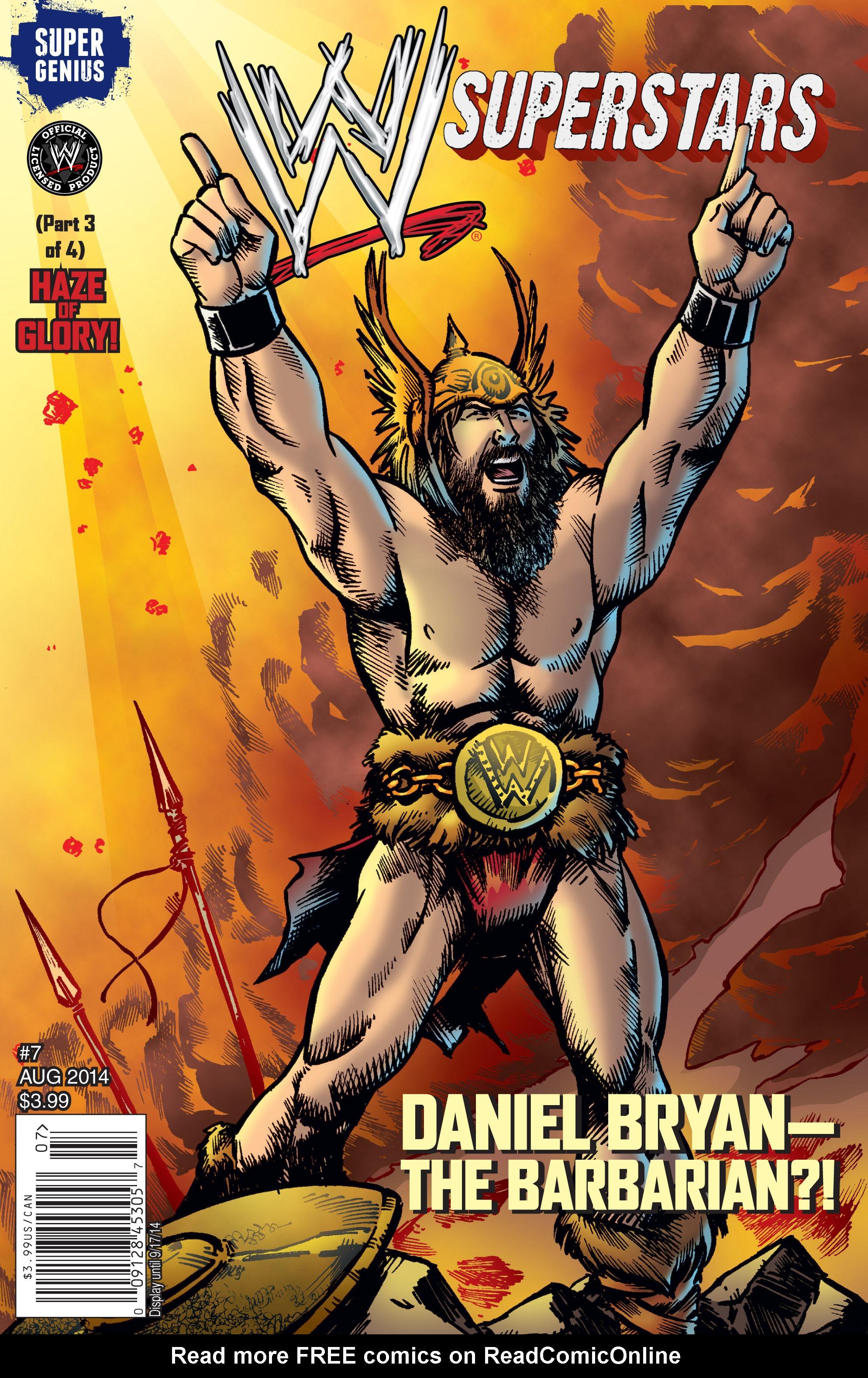 Read online WWE Superstars comic -  Issue #7 - 1